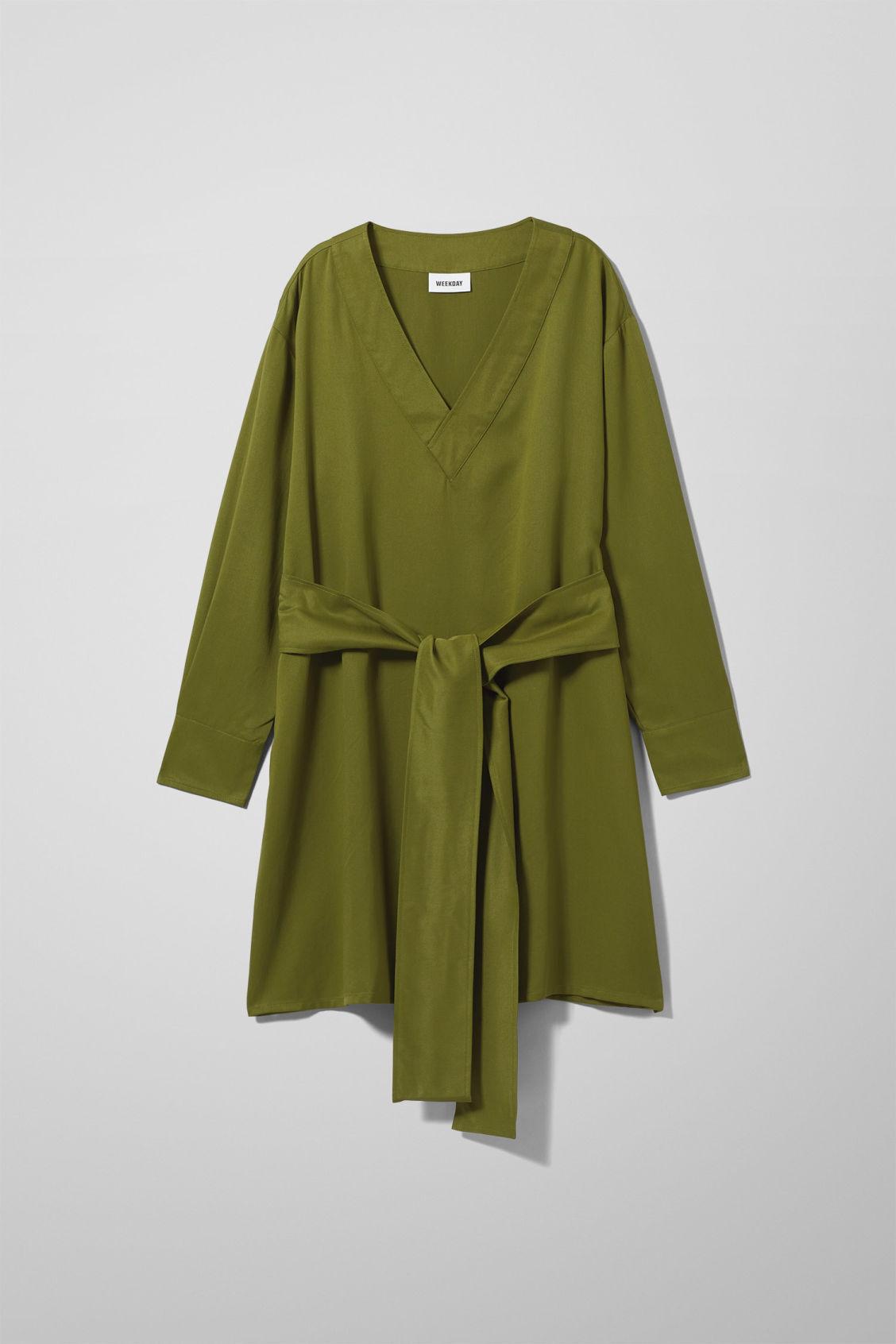 Image of Baba Dress - Green-XS