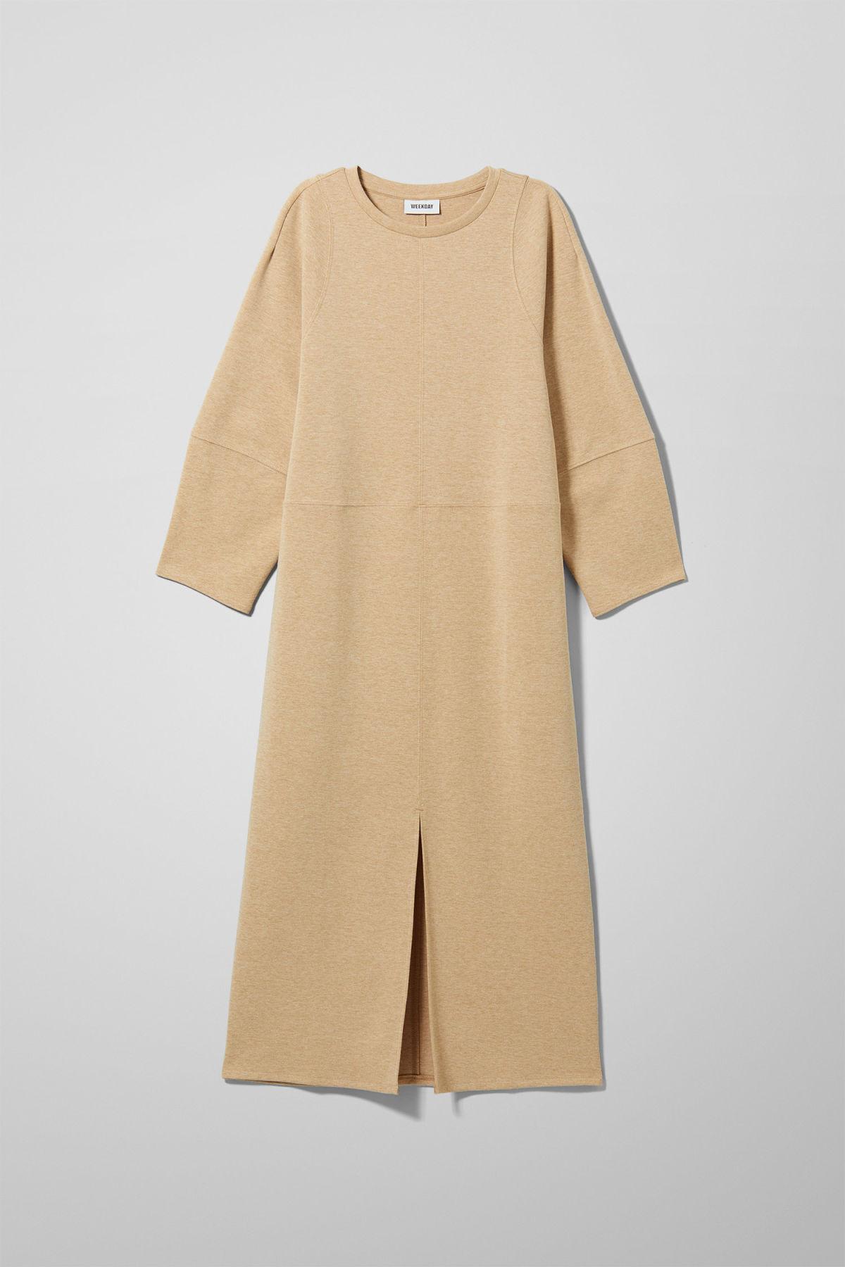 Image of Rena Dress - Beige-XS