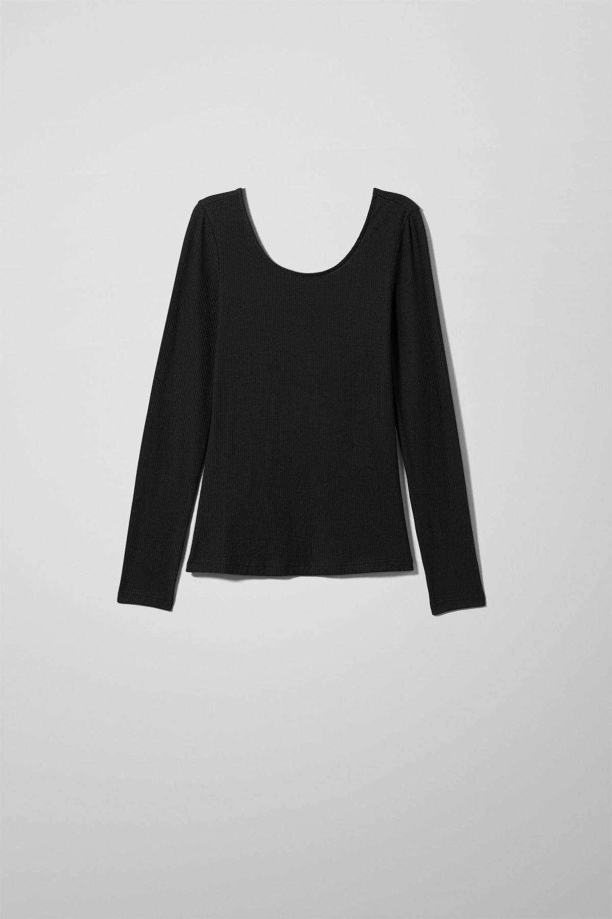 Image of Cia Long Sleeve - Black-XS
