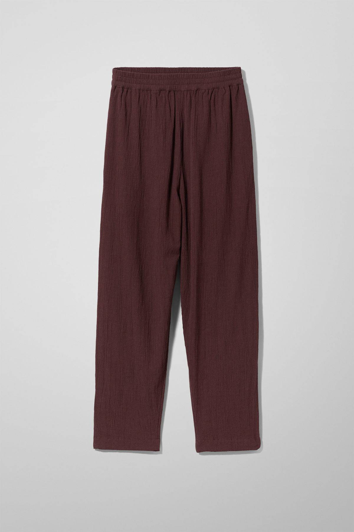 Image of Barb Casual Trousers - Red-44