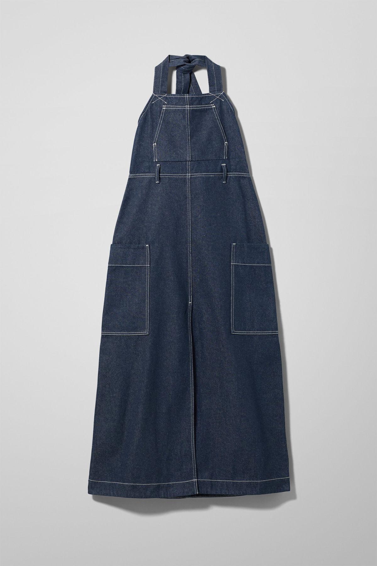 Image of Work Dress - Blue-XS