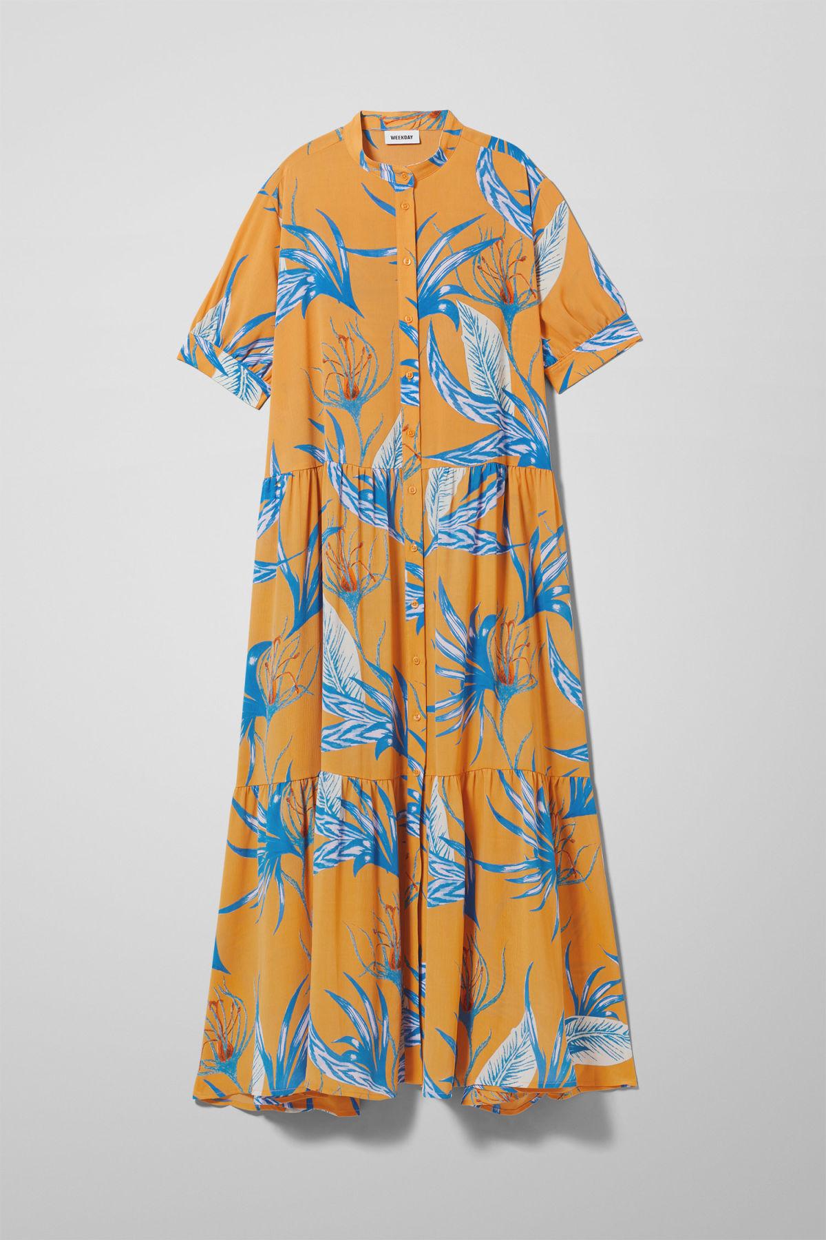 Image of Storm Dress - Yellow-M