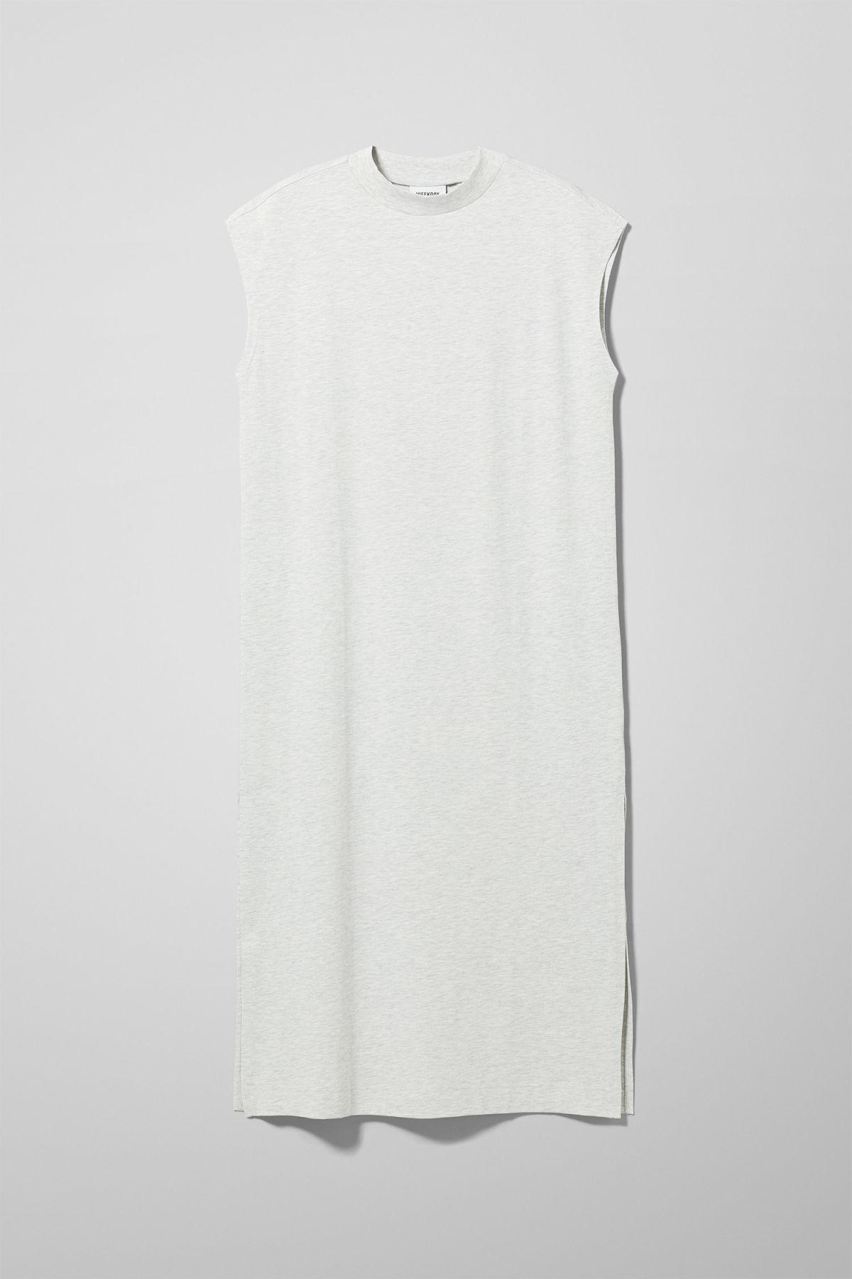 Image of Alma Dress - Grey-XS
