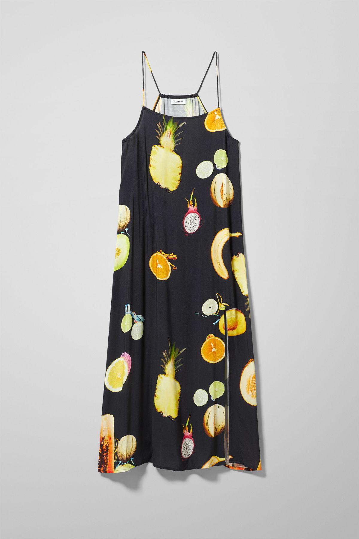 Image of Vilma Strap Dress - Black-M