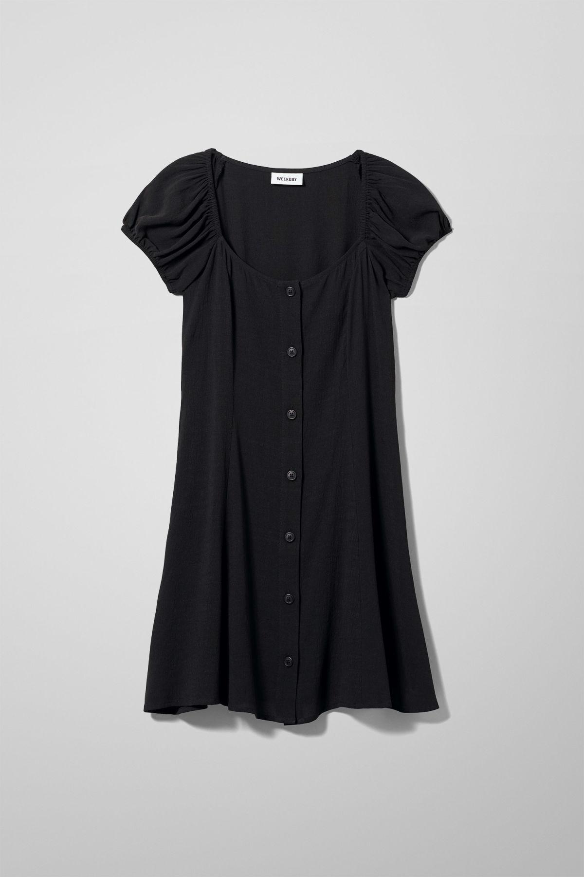 Image of Mina Dress - Black-34