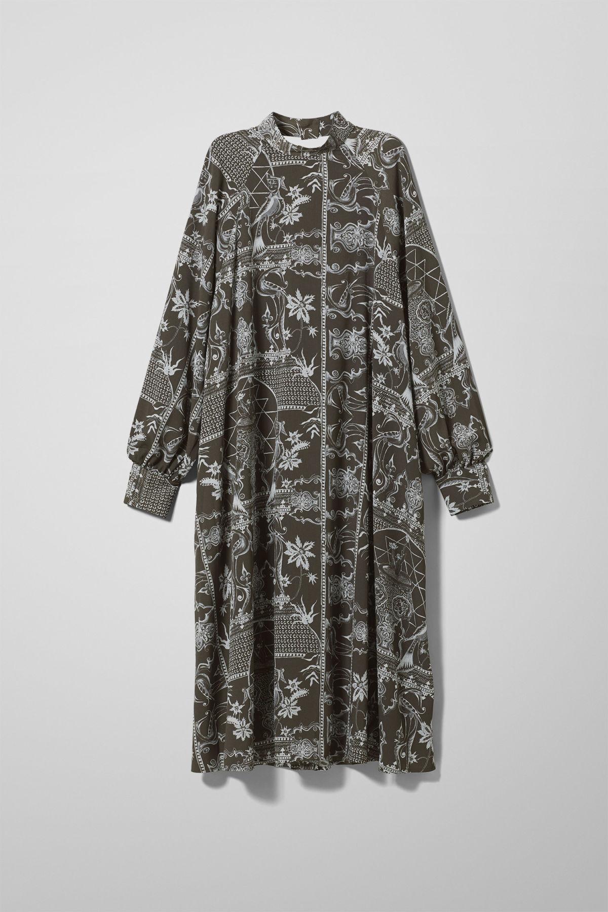 Image of Ethel Dress - Black-XS