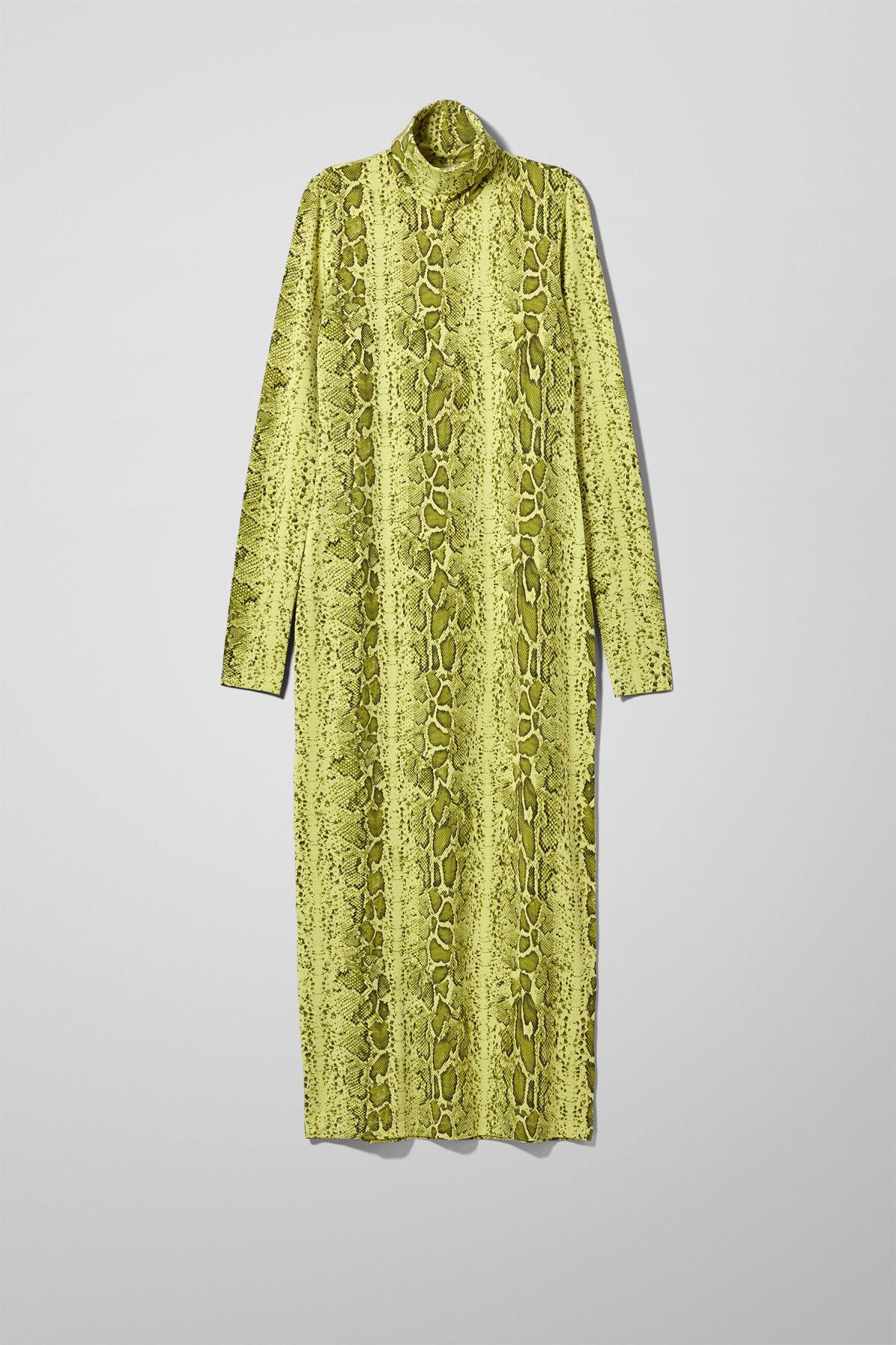 Image of Maxine Dress - Yellow-XS