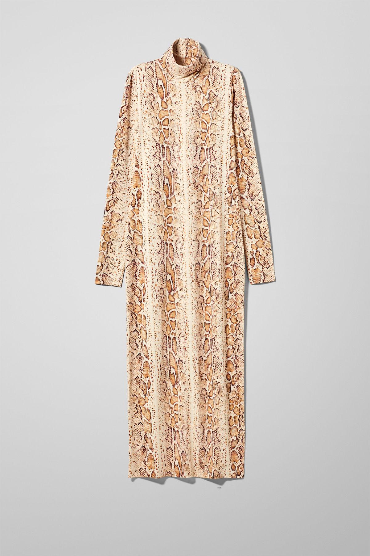 Image of Maxine Dress - Beige-XS