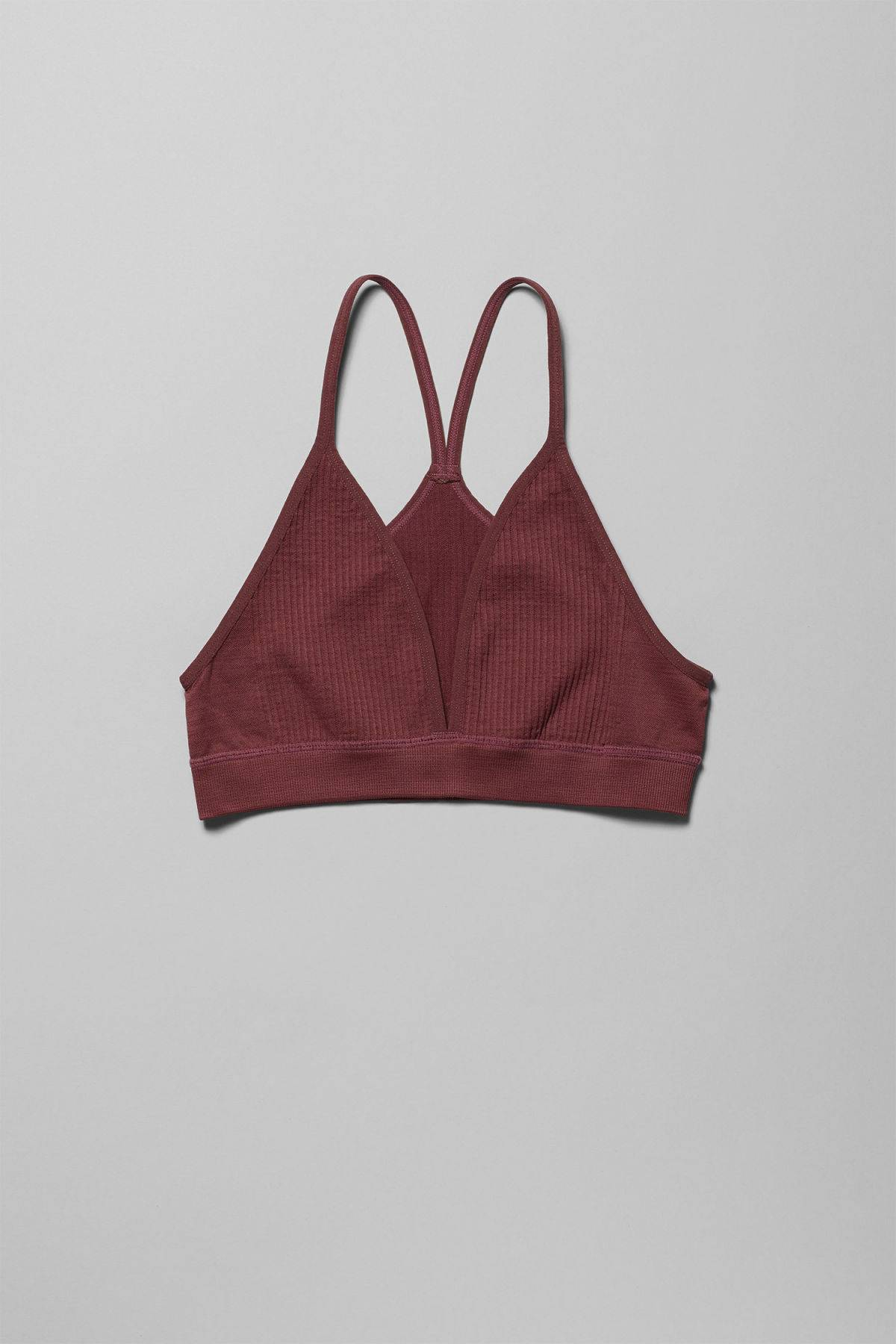 Image of Earth Soft Bra - Red-S