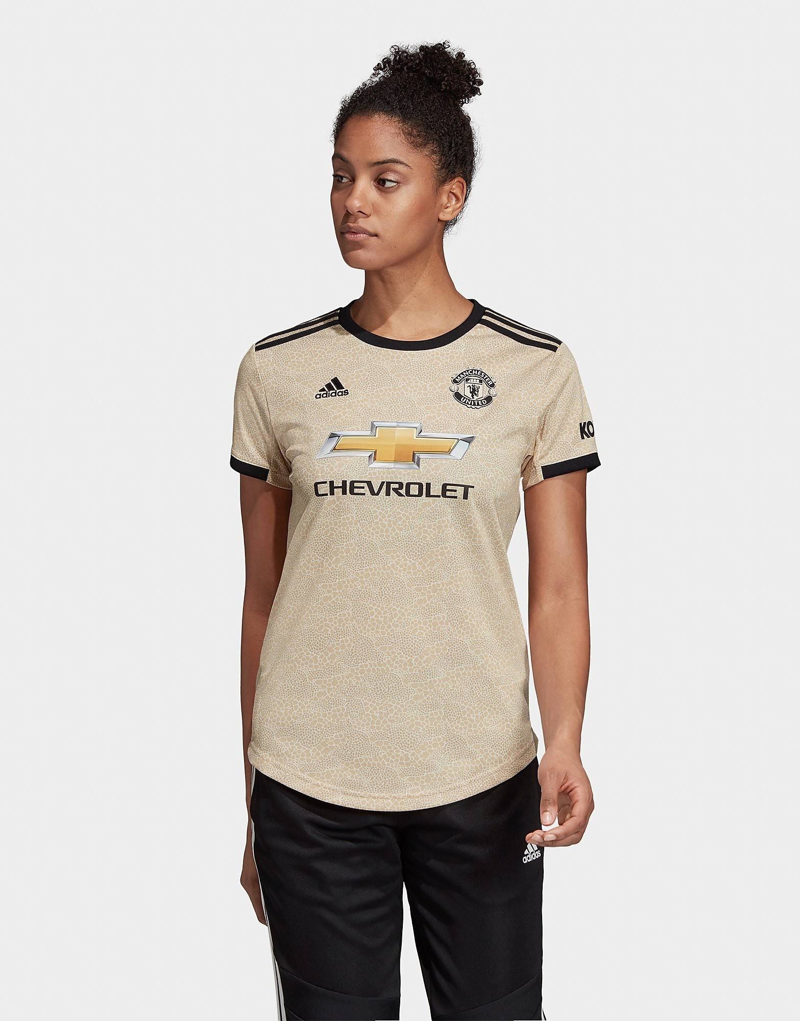 Image of Adidas Manchester United 2019/20 Vieraspaita Naiset ENNAKKOTILAUS - Womens, Ruskea