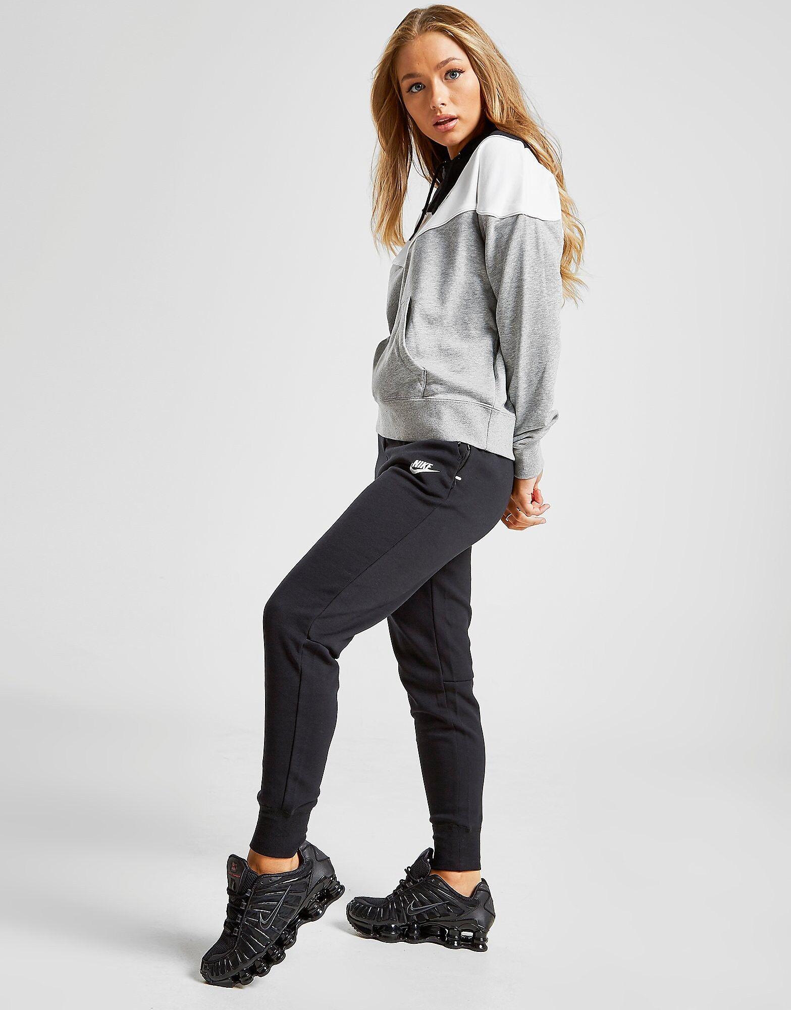 Image of Nike Tech Fleece Joggers - Womens, Musta