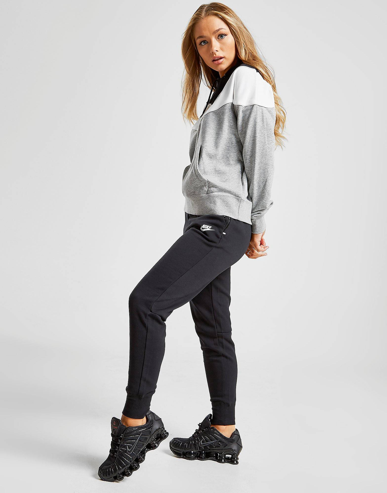 Image of Nike Tech Fleece Joggers - Womens, Musta