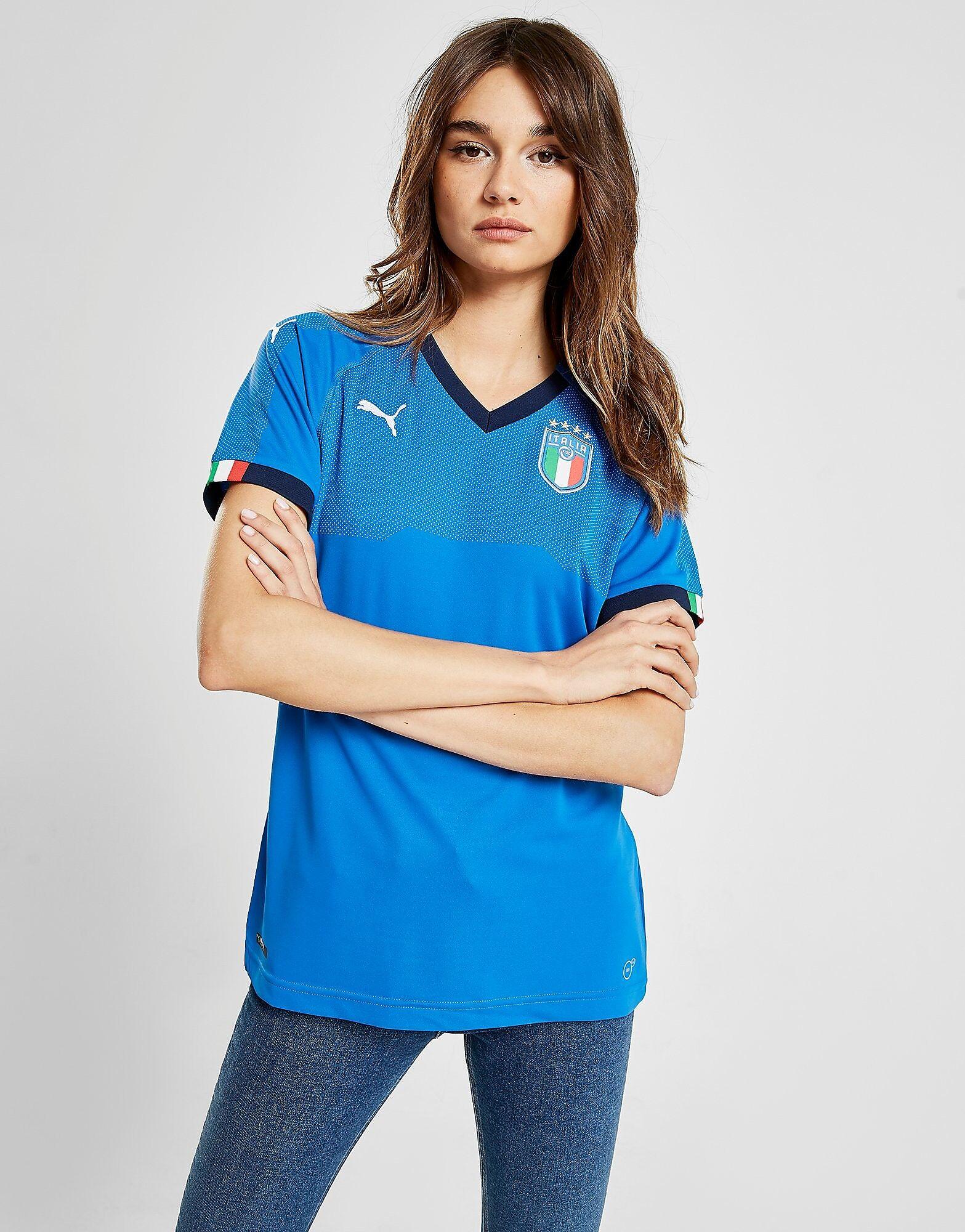 Image of Puma Italy 2019 Kotipaita Naiset - Womens, Sininen