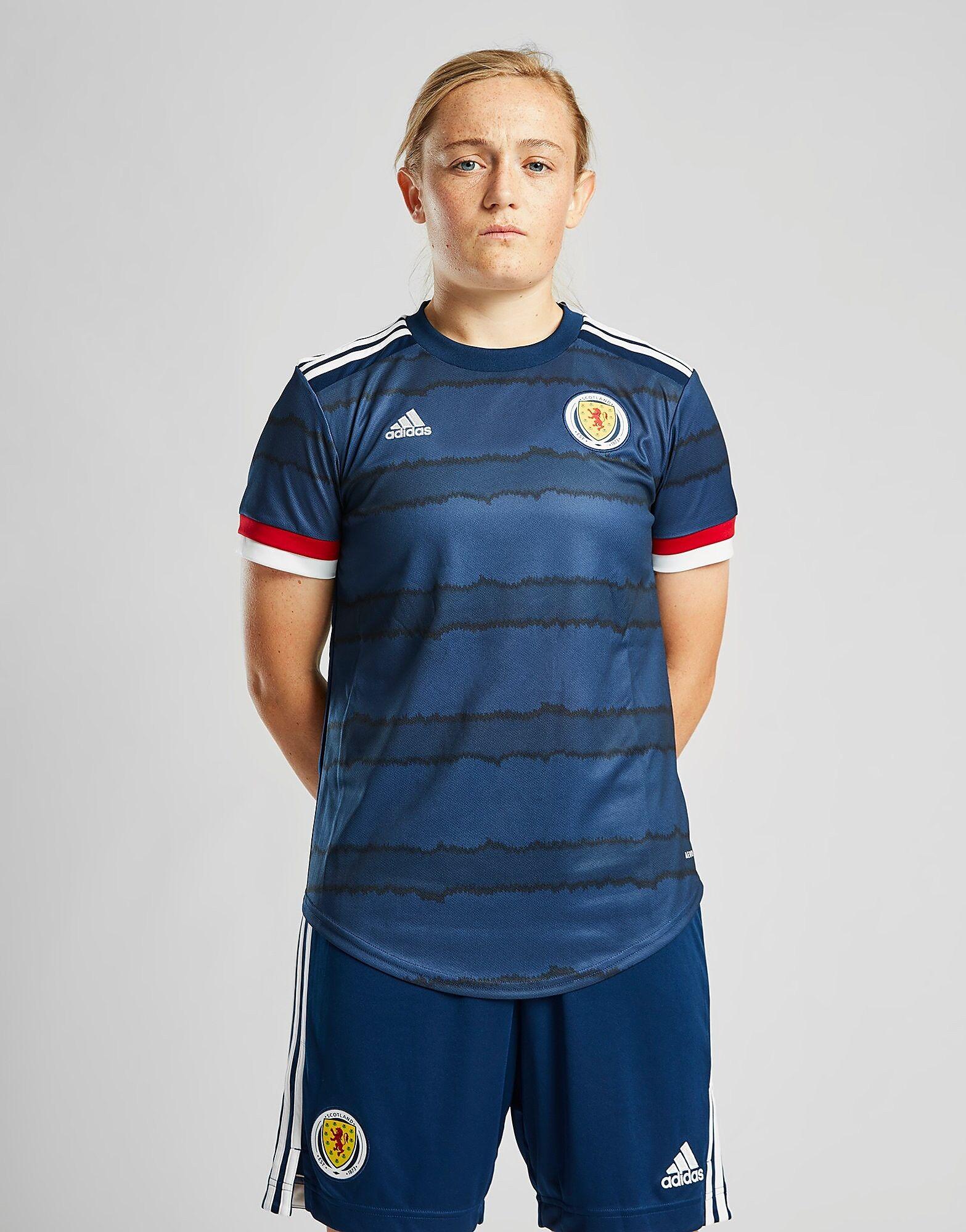 Image of Adidas Scotland 2020 Kotipaita Naiset - Womens, Sininen