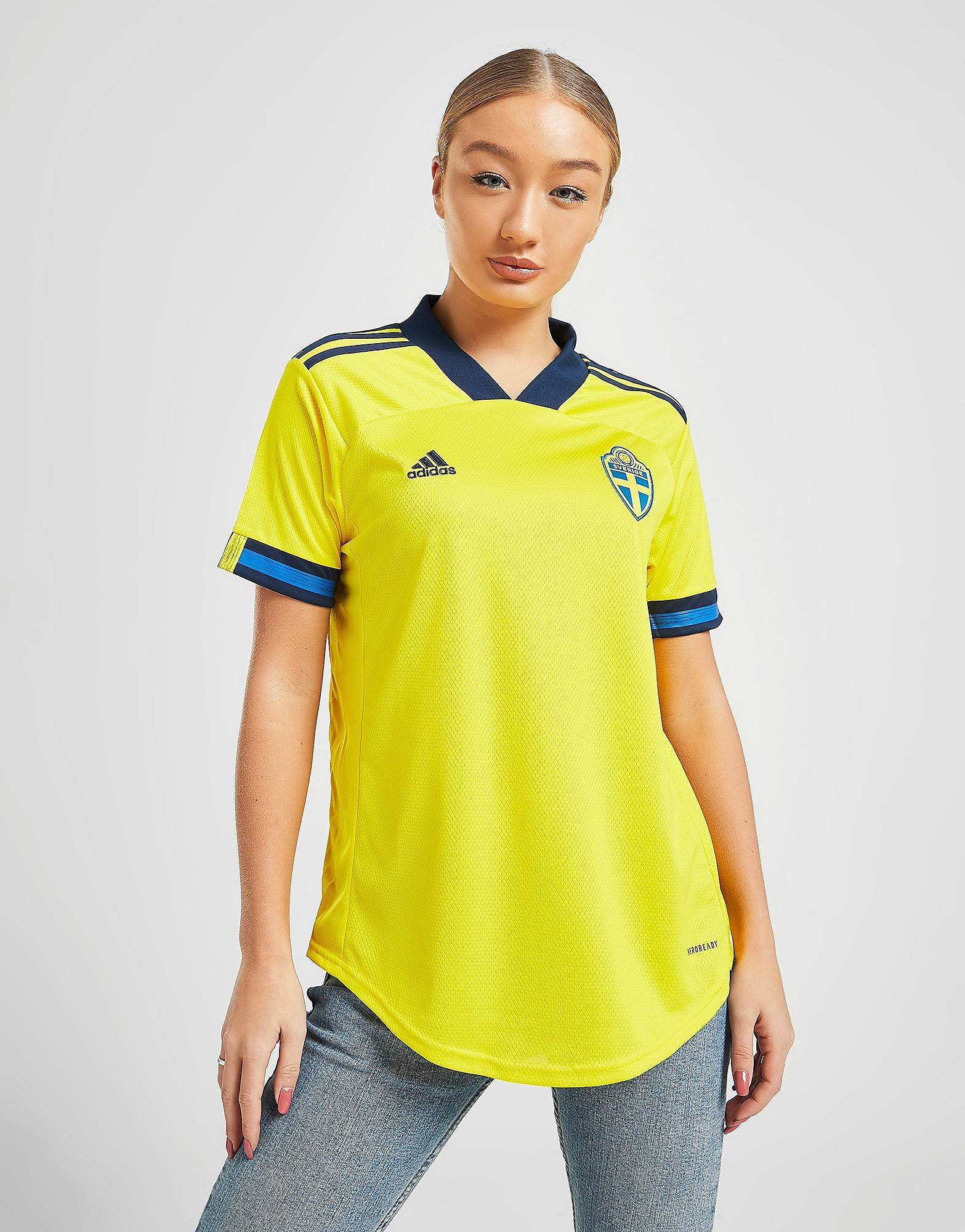 Image of Adidas Sweden 2020 -kotipaita Naiset - Womens, Keltainen