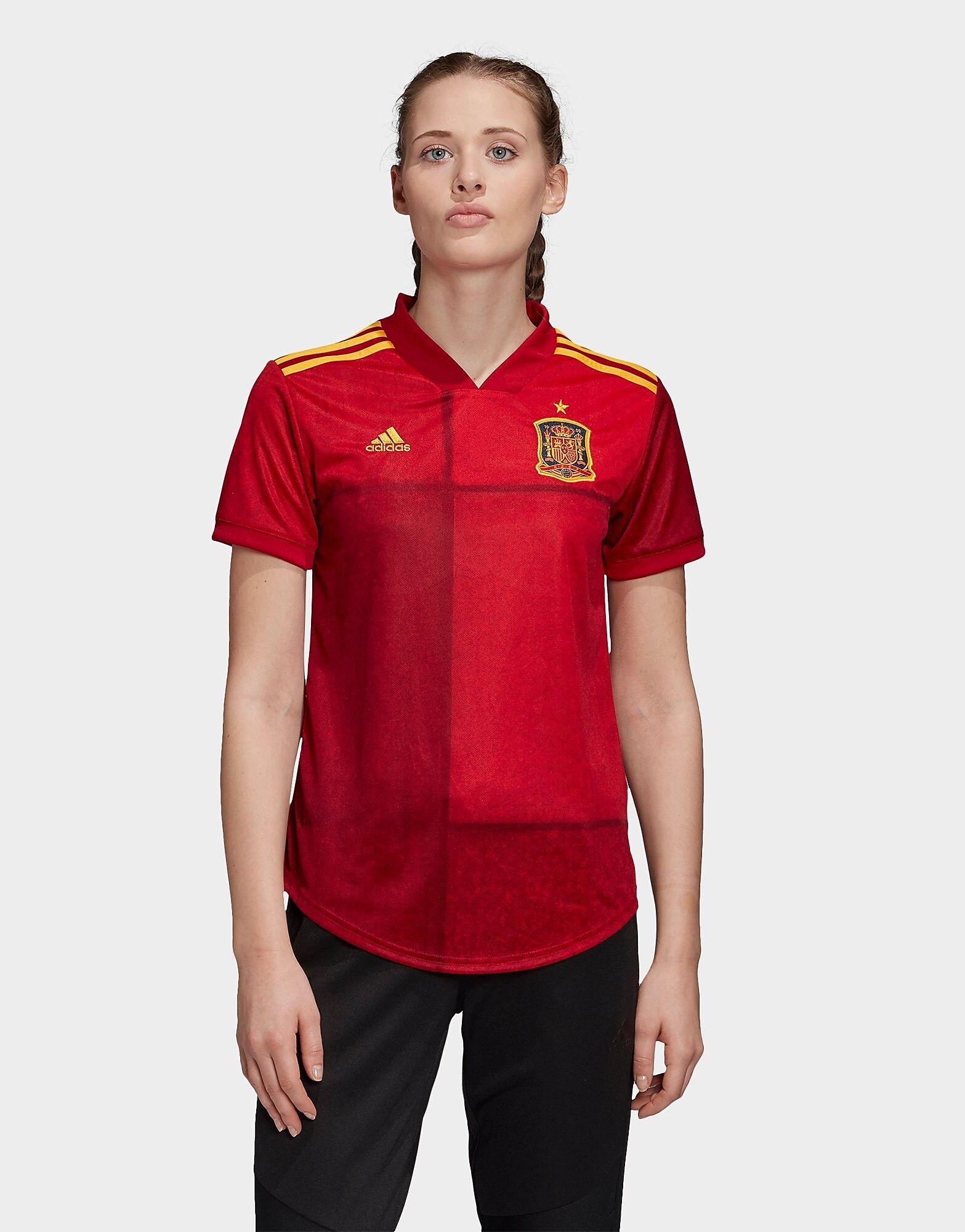 Image of Adidas Spain 2020 Kotipaita Naiset - Womens, Punainen