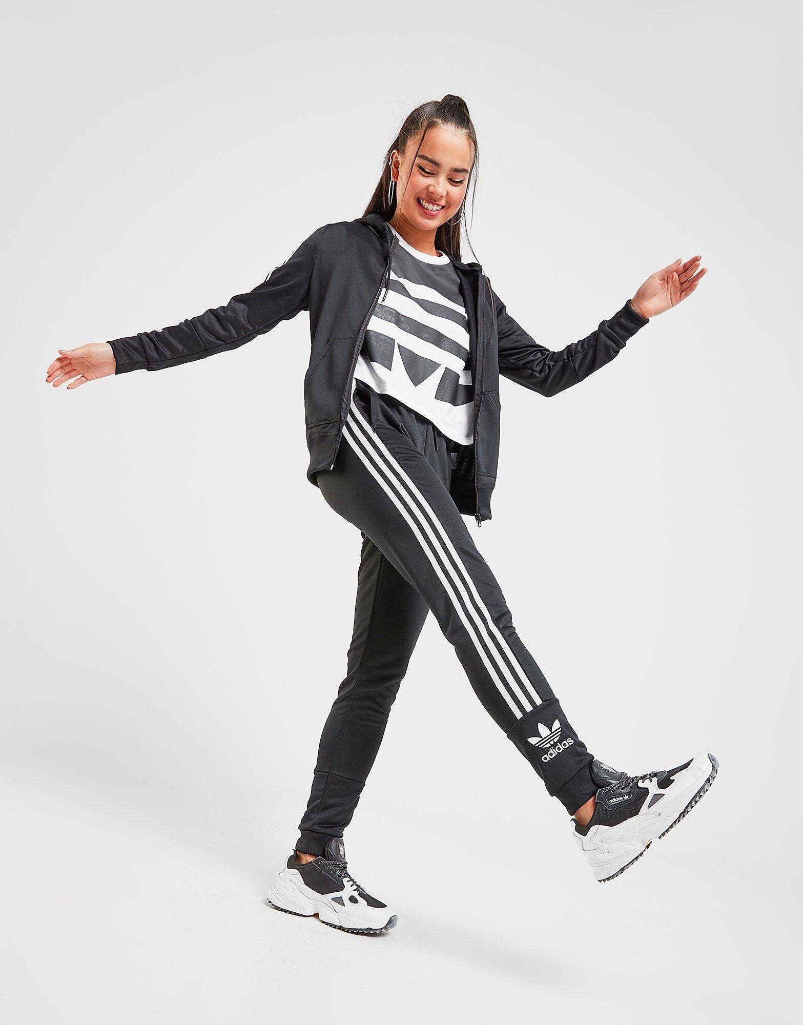 Image of Adidas Originals Lock Up Verryttelyhousut Naiset - Only at JD - Womens, Musta