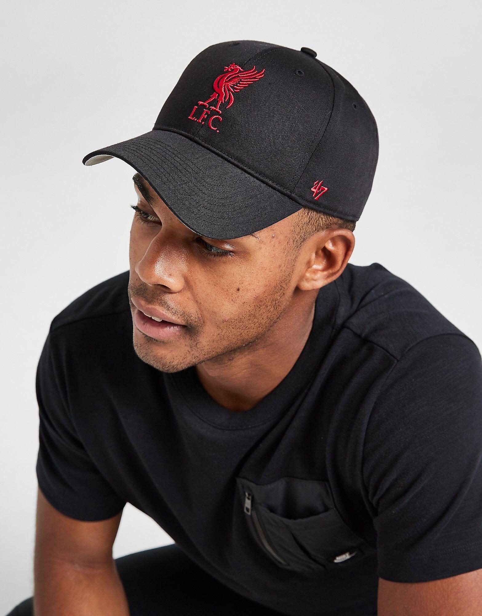 47 Brand Liverpool FC Cap - Mens, Musta
