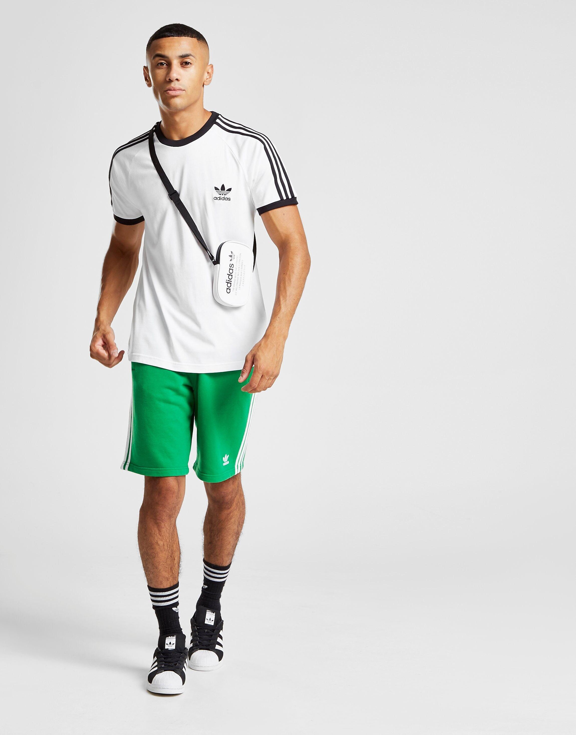 Image of Adidas Originals 3-Stripes California T-Paita Miehet - Mens, Valkoinen