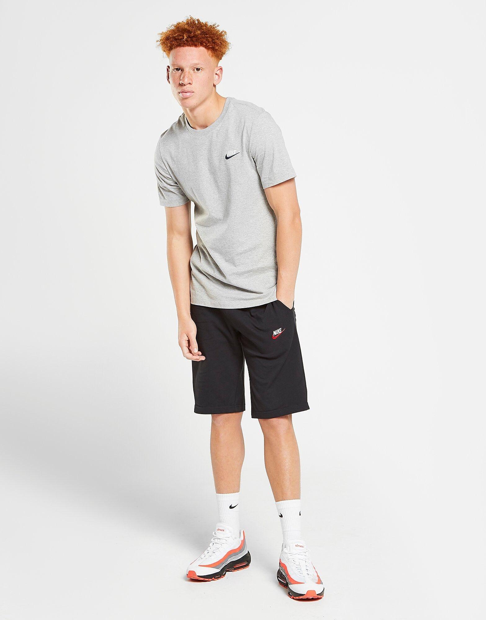 Image of Nike Foundation Jersey Shortsit Miehet - Only at JD - Mens, Musta