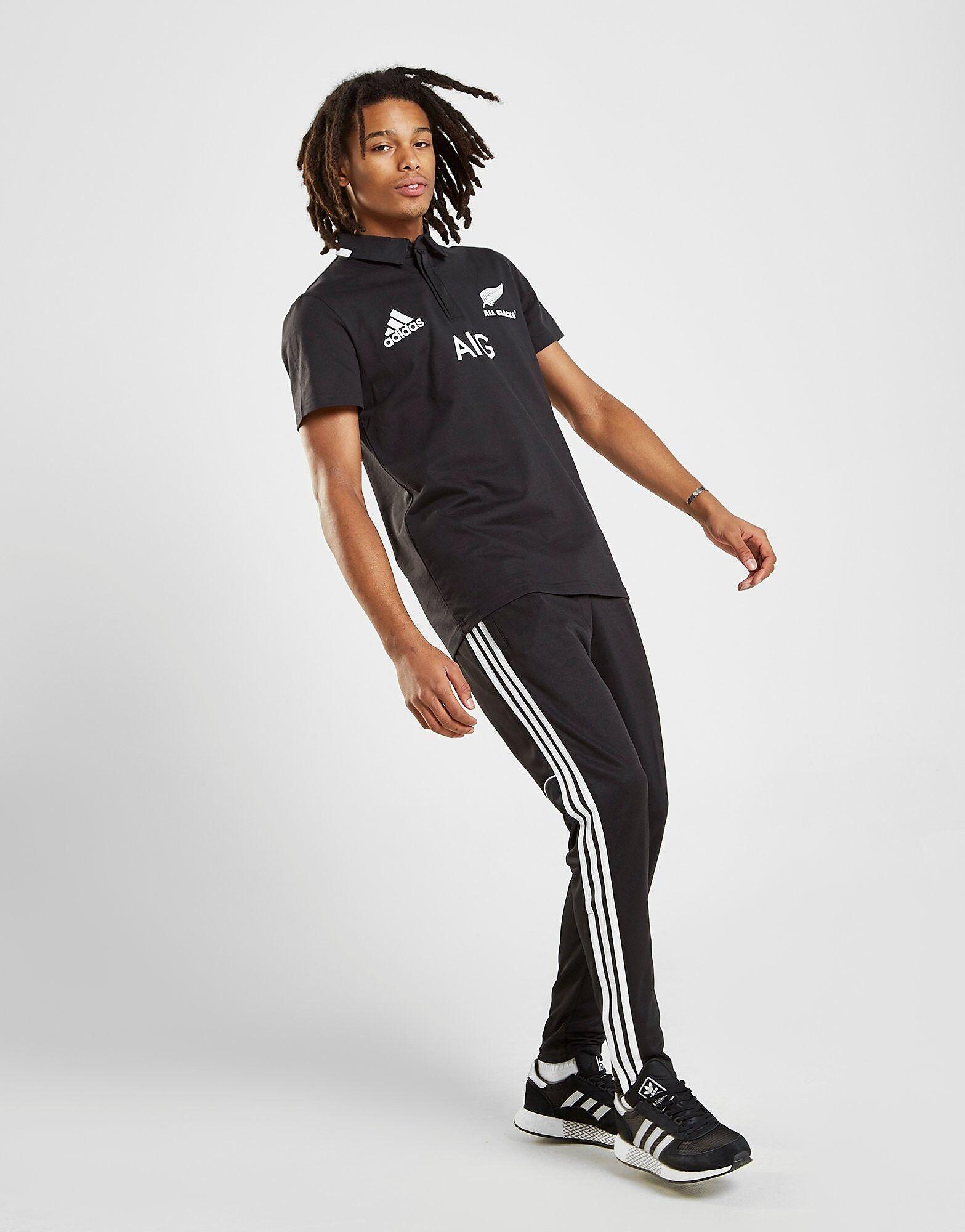 Image of Adidas New Zealand All Blacks Supporters Kotipaita Miehet - Mens, Musta