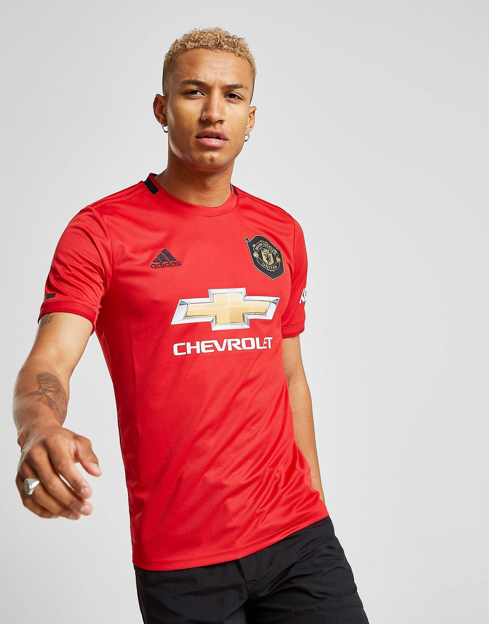 Image of Adidas Manchester United FC 19/20 Kotipaita Miehet ENNAKKOTILAUS - Mens, Punainen