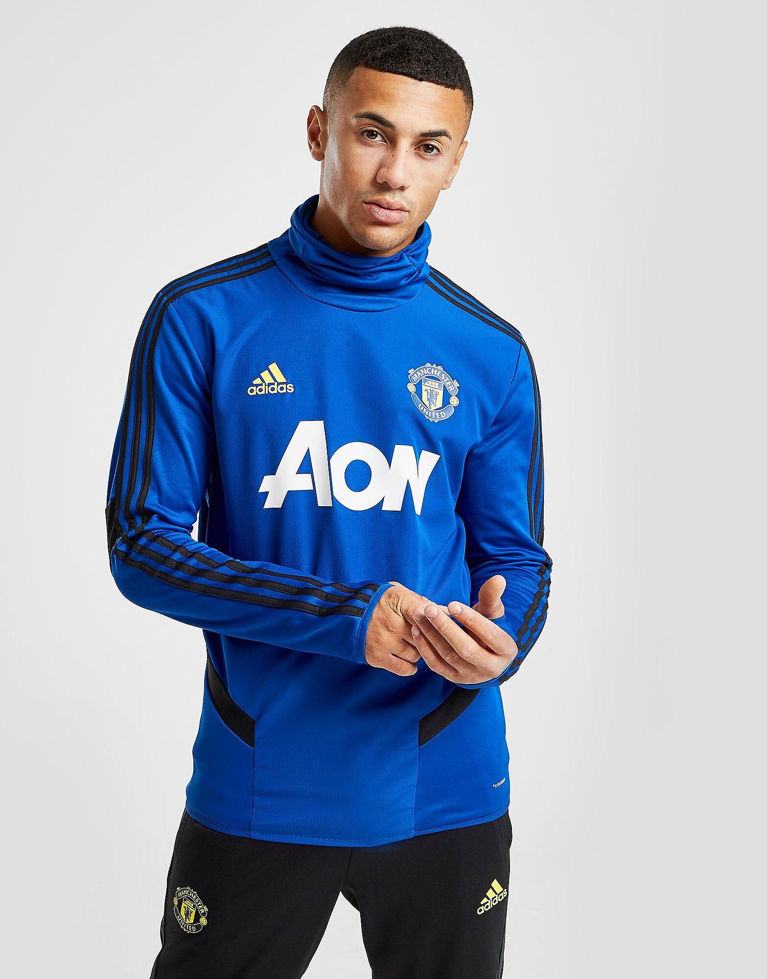 Image of Adidas Manchester United FC Lämpöpaita Miehet - Mens, Sininen