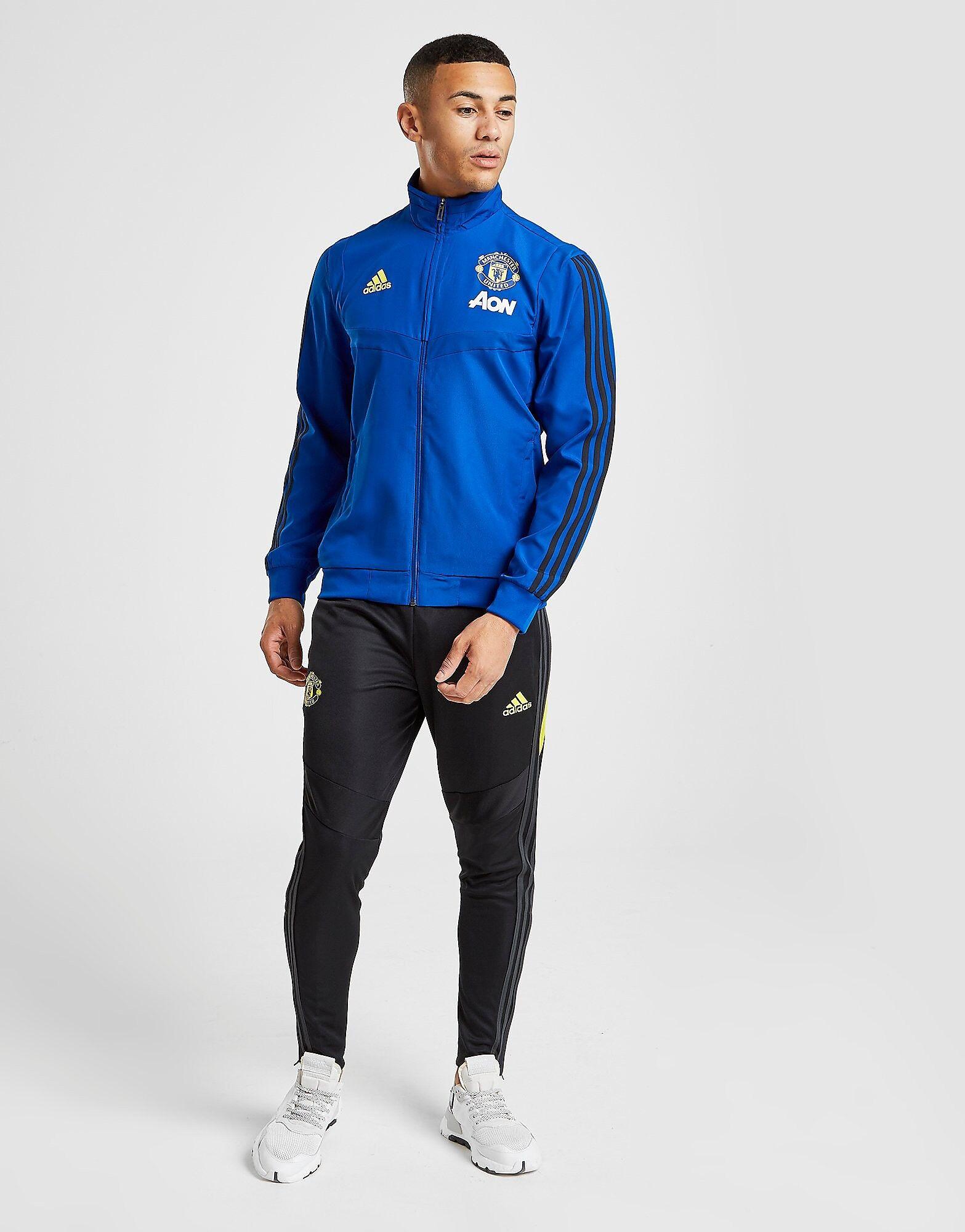 Image of Adidas Manchester United FC Treenihousut Miehet - Mens, Musta