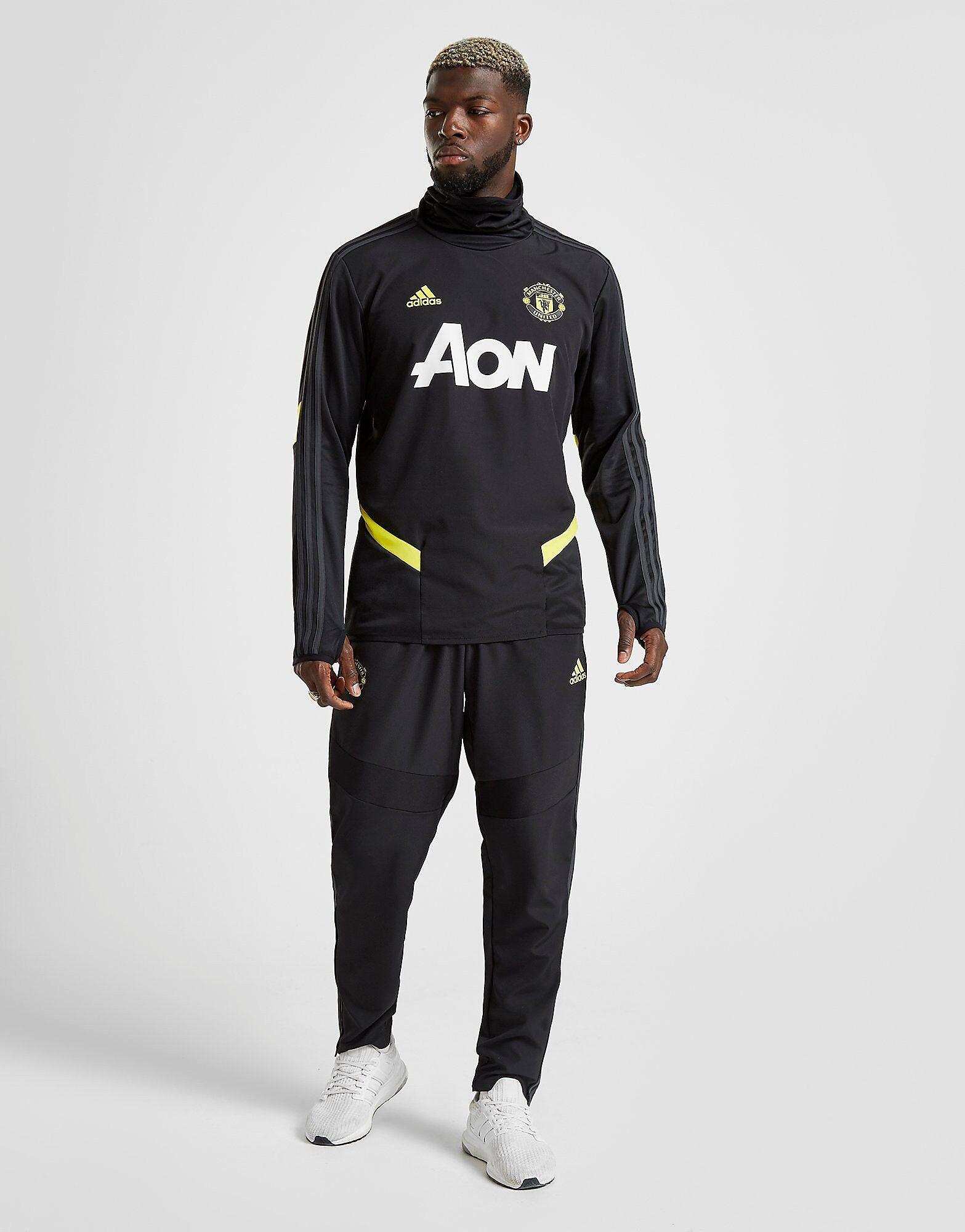 Image of Adidas Manchester United FC Verryttelyhousut Miehet - Mens, Musta