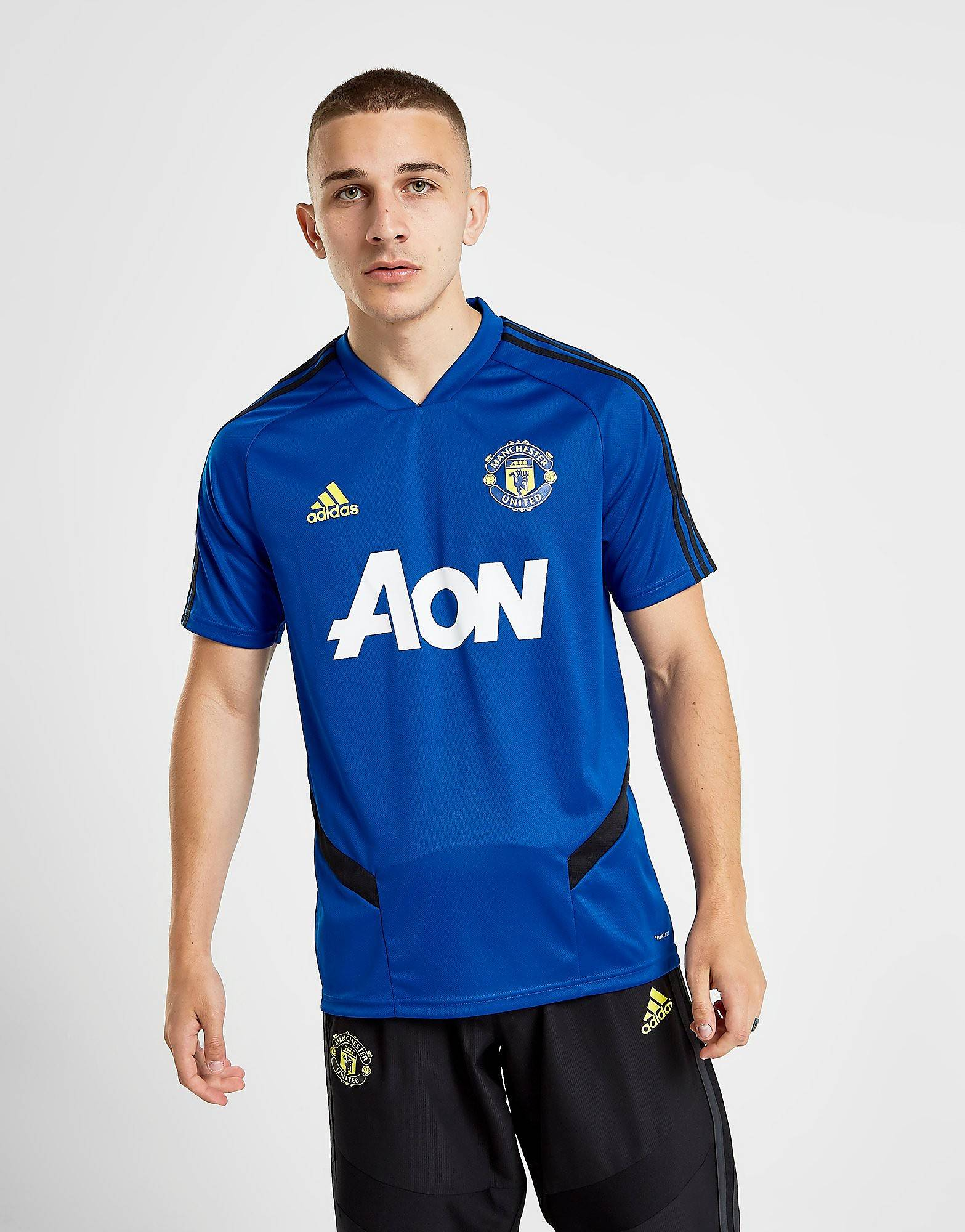 Image of Adidas Manchester United FC Treenipaita Miehet - Mens, Sininen