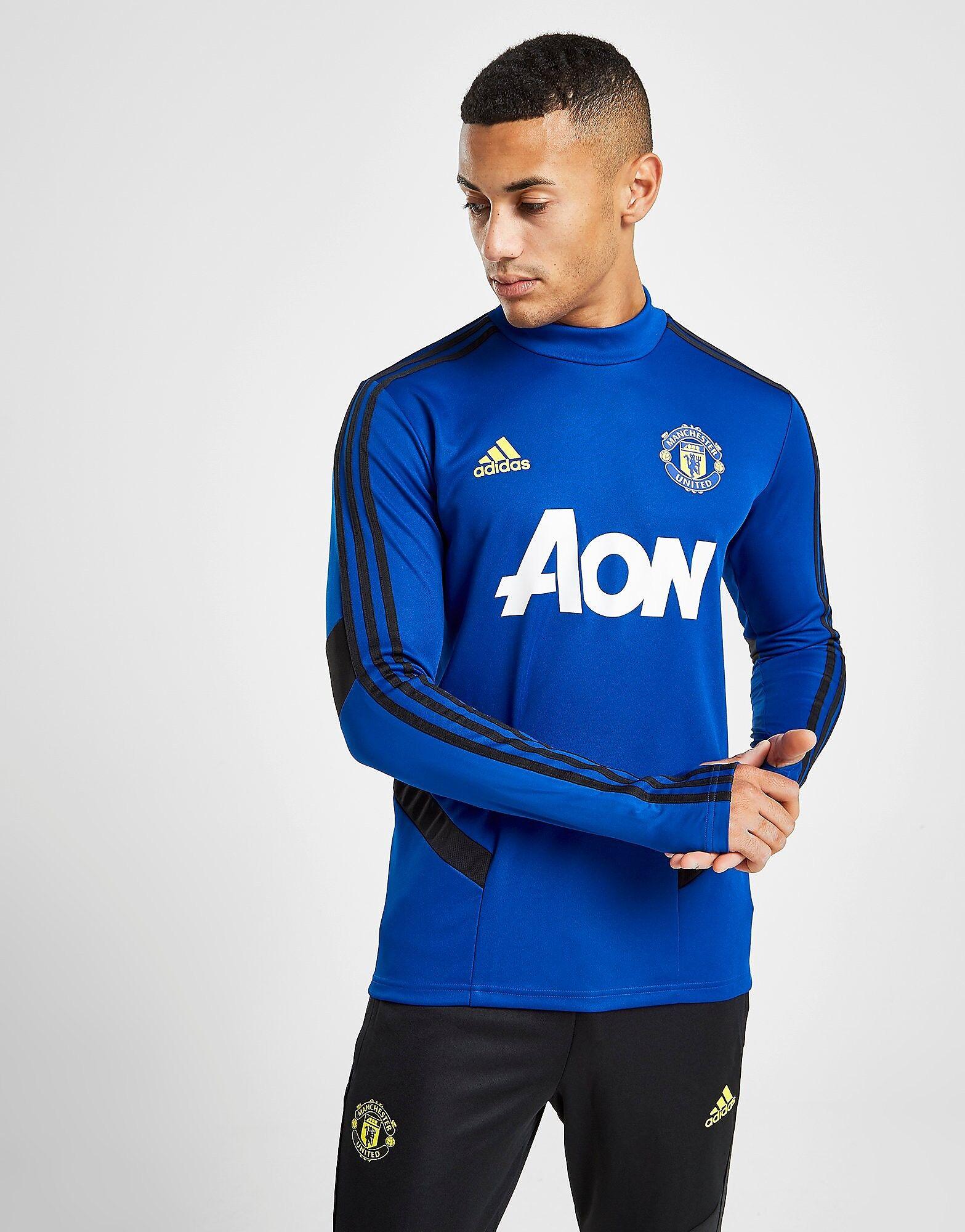 Image of Adidas Manchester United FC Treenipaita - Mens, Sininen