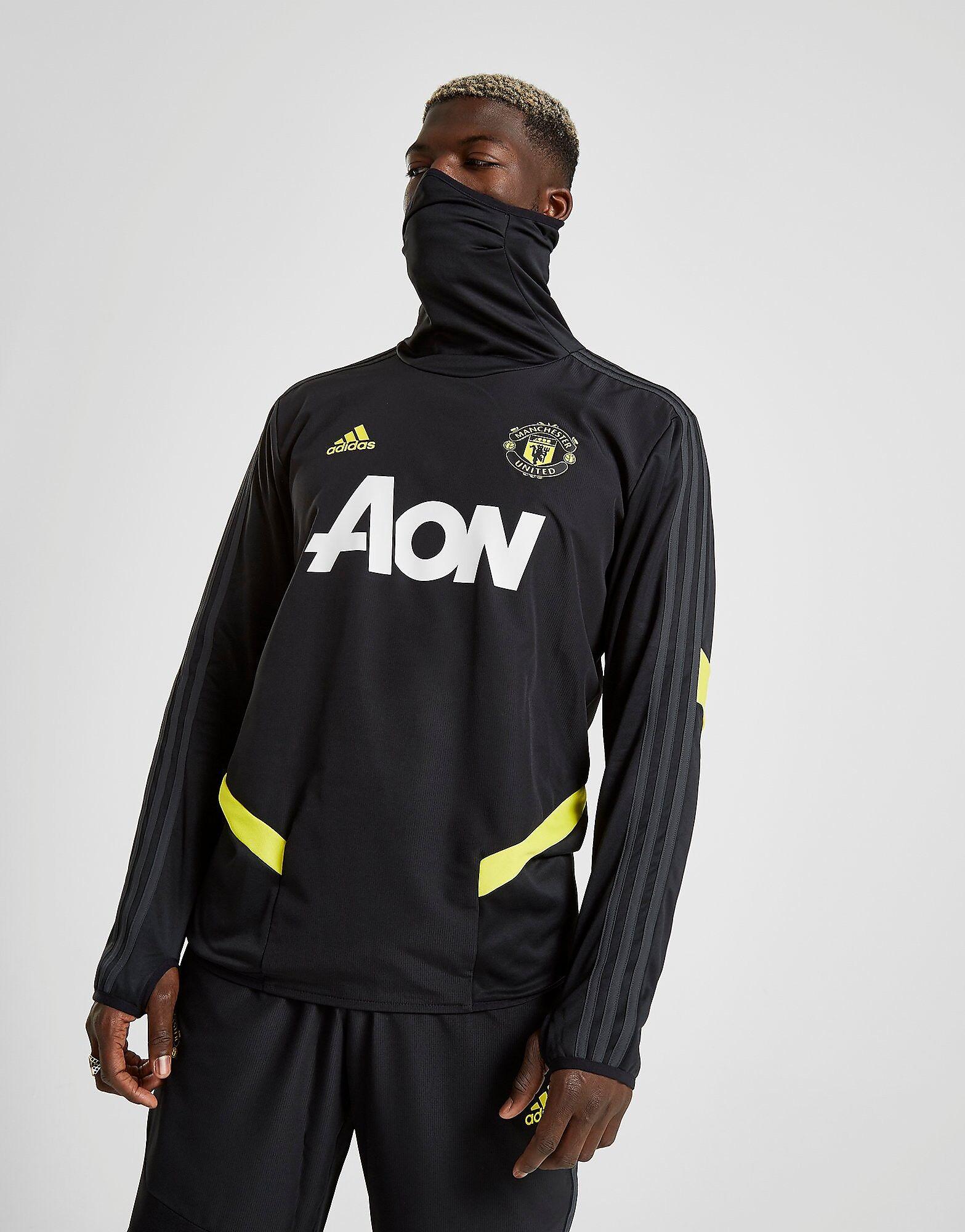 Image of Adidas Manchester United FC Lämpöpaita Miehet - Mens, Musta