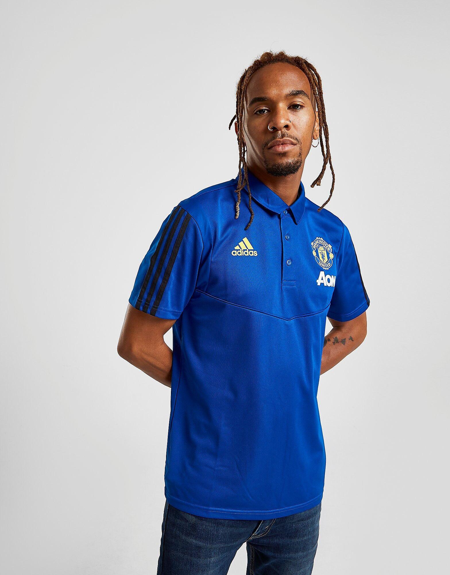 Image of Adidas Manchester United FC Pikeepaita Miehet - Mens, Sininen