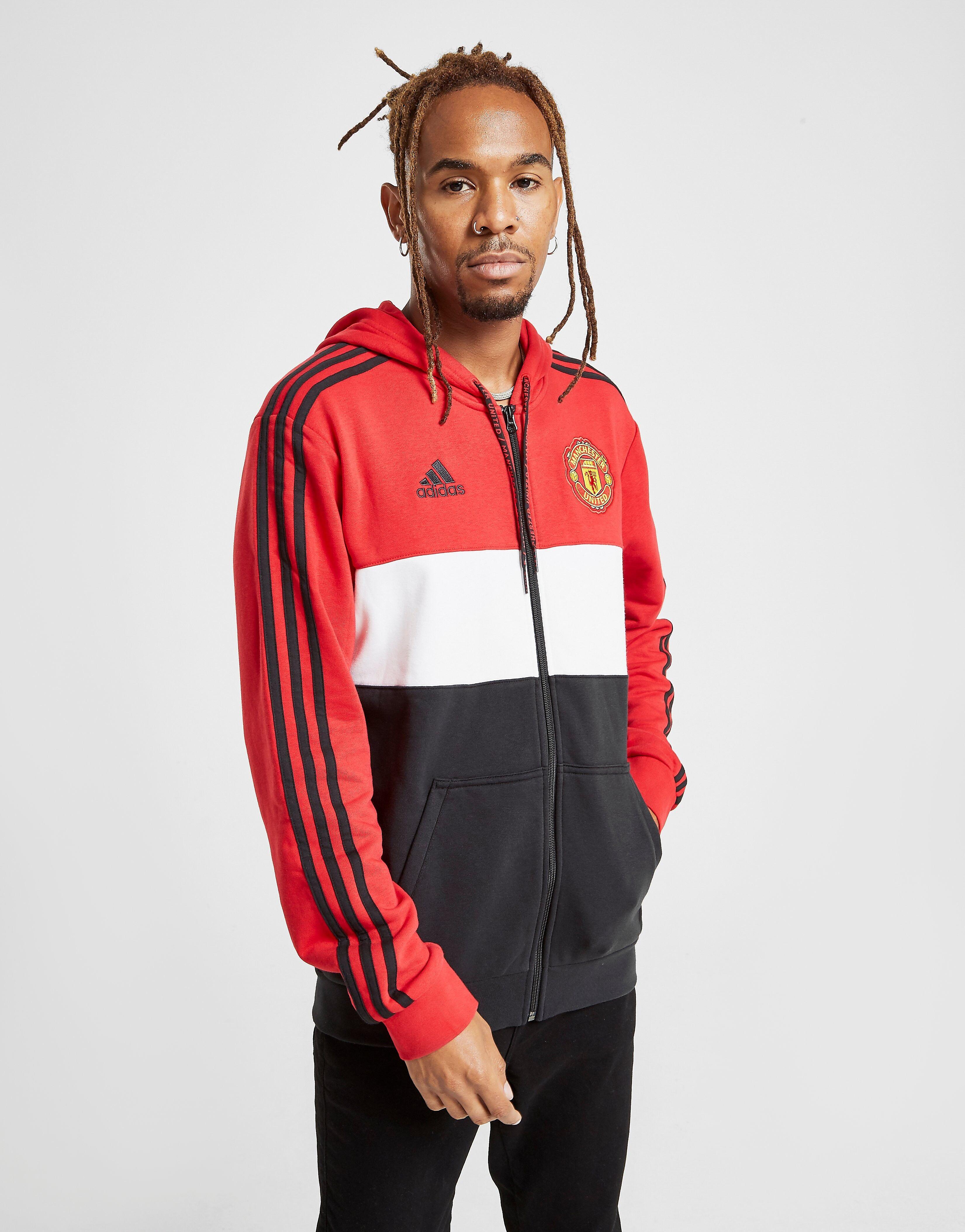 Image of Adidas Manchester United FC Huppari Miehet - Mens, Punainen