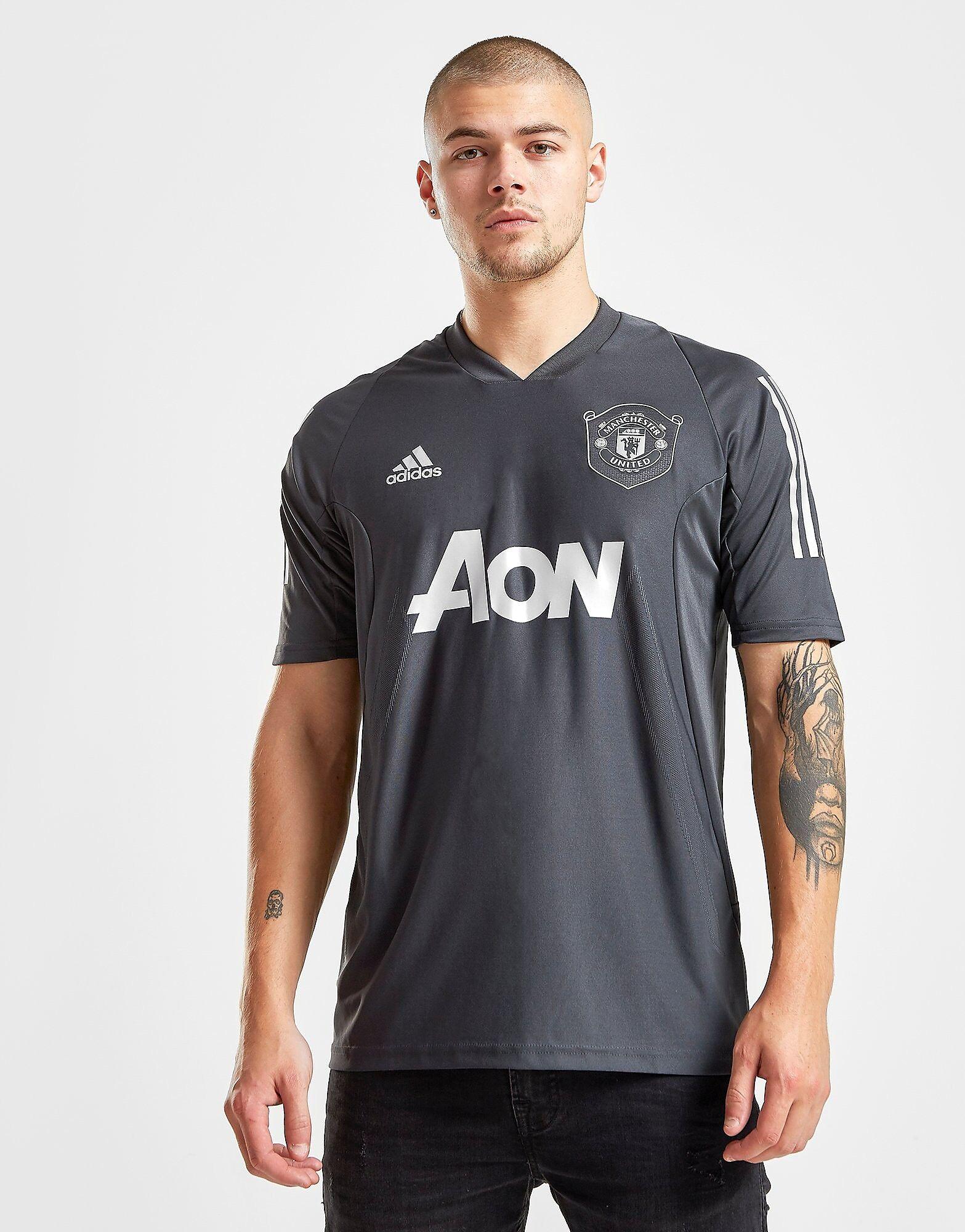 Image of Adidas Manchester United FC Ultimate Treenipaita Miehet - Mens, Harmaa