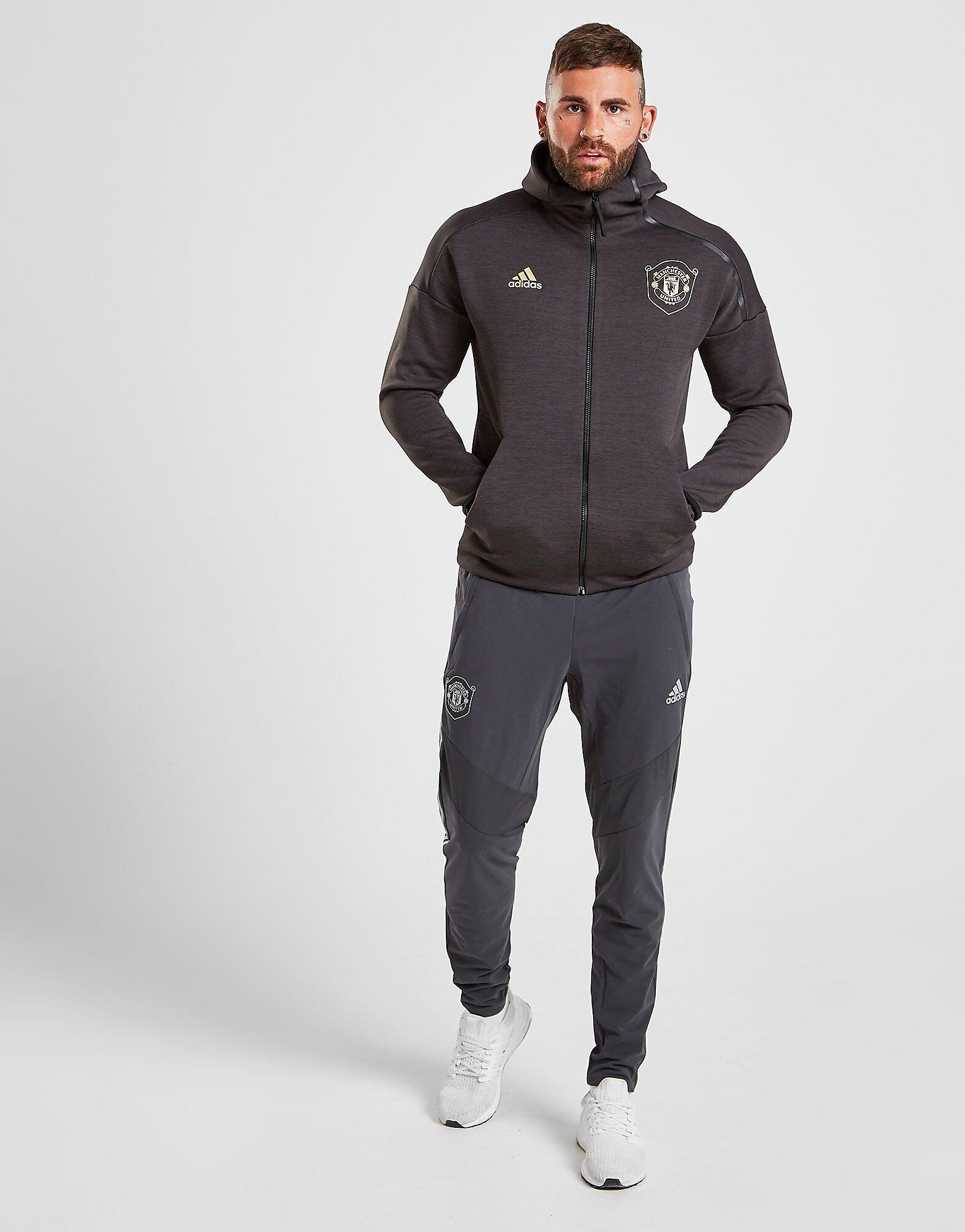 Image of Adidas Manchester United FC EU Verryttelyhousut Miehet - Mens, Musta