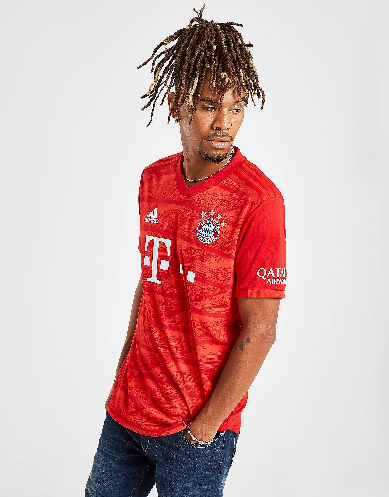 Image of Adidas FC Bayern Munich 19/20 Kotipaita Miehet - Mens, Punainen