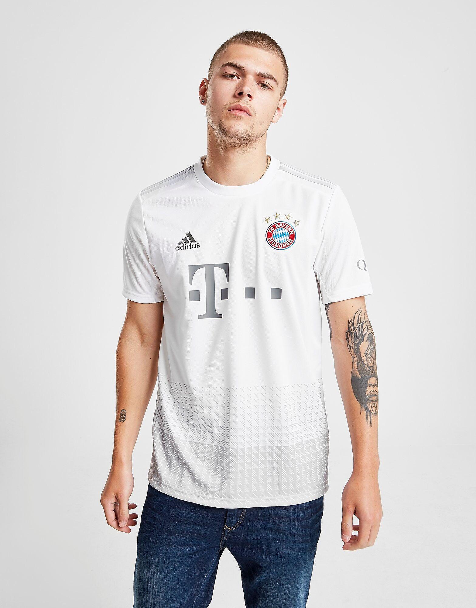 Image of Adidas FC Bayern Munich 2019/20 Vieraspaita Miehet - Mens, Valkoinen