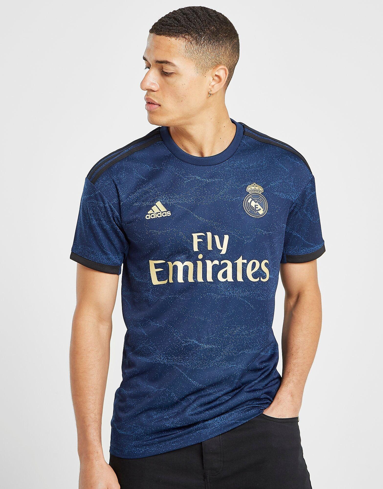 Image of Adidas Real Madrid 2019/20 Vieraspaita Miehet - Mens, Laivastonsininen