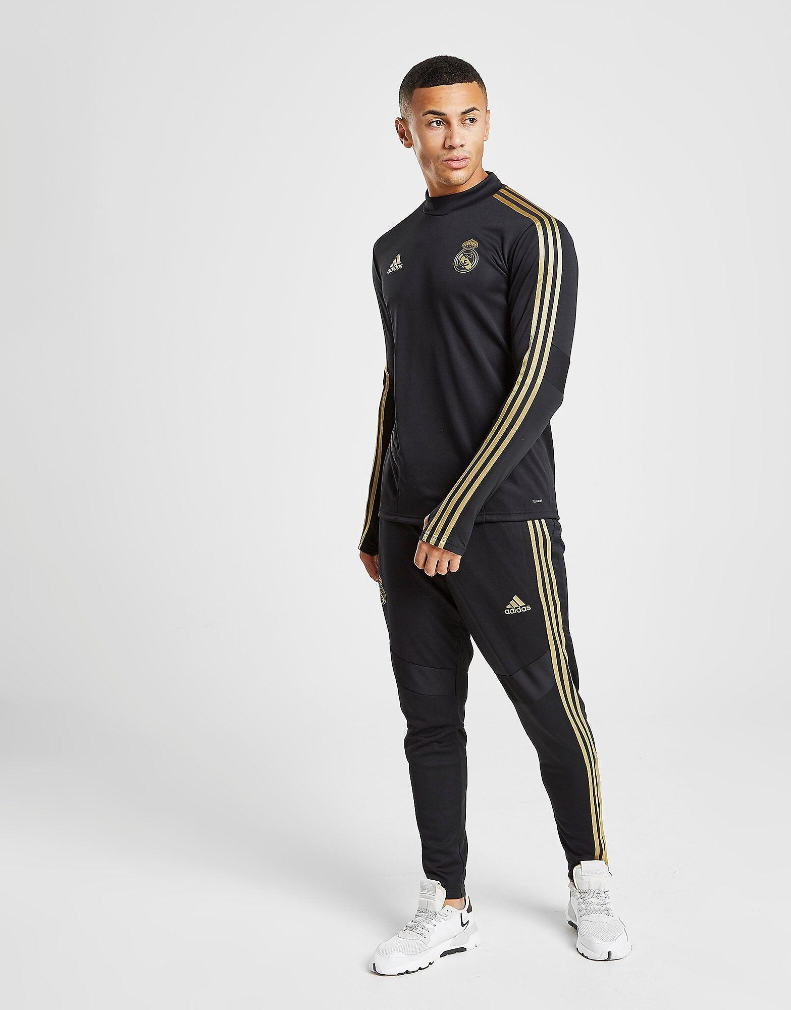 Image of Adidas Real Madrid Treenihousut Miehet - Mens, Musta
