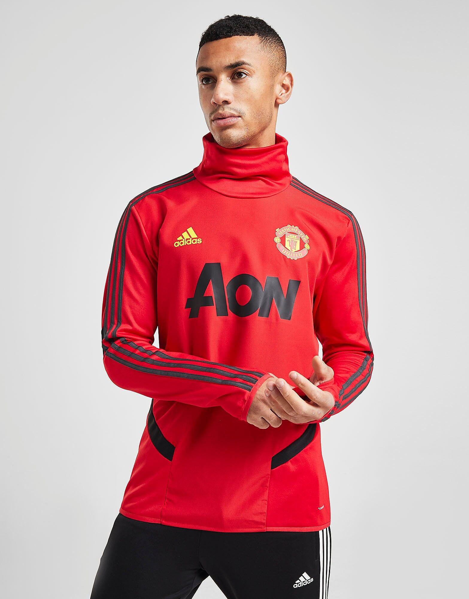 Image of Adidas Manchester United FC Lämpöpaita Miehet - Mens, Punainen