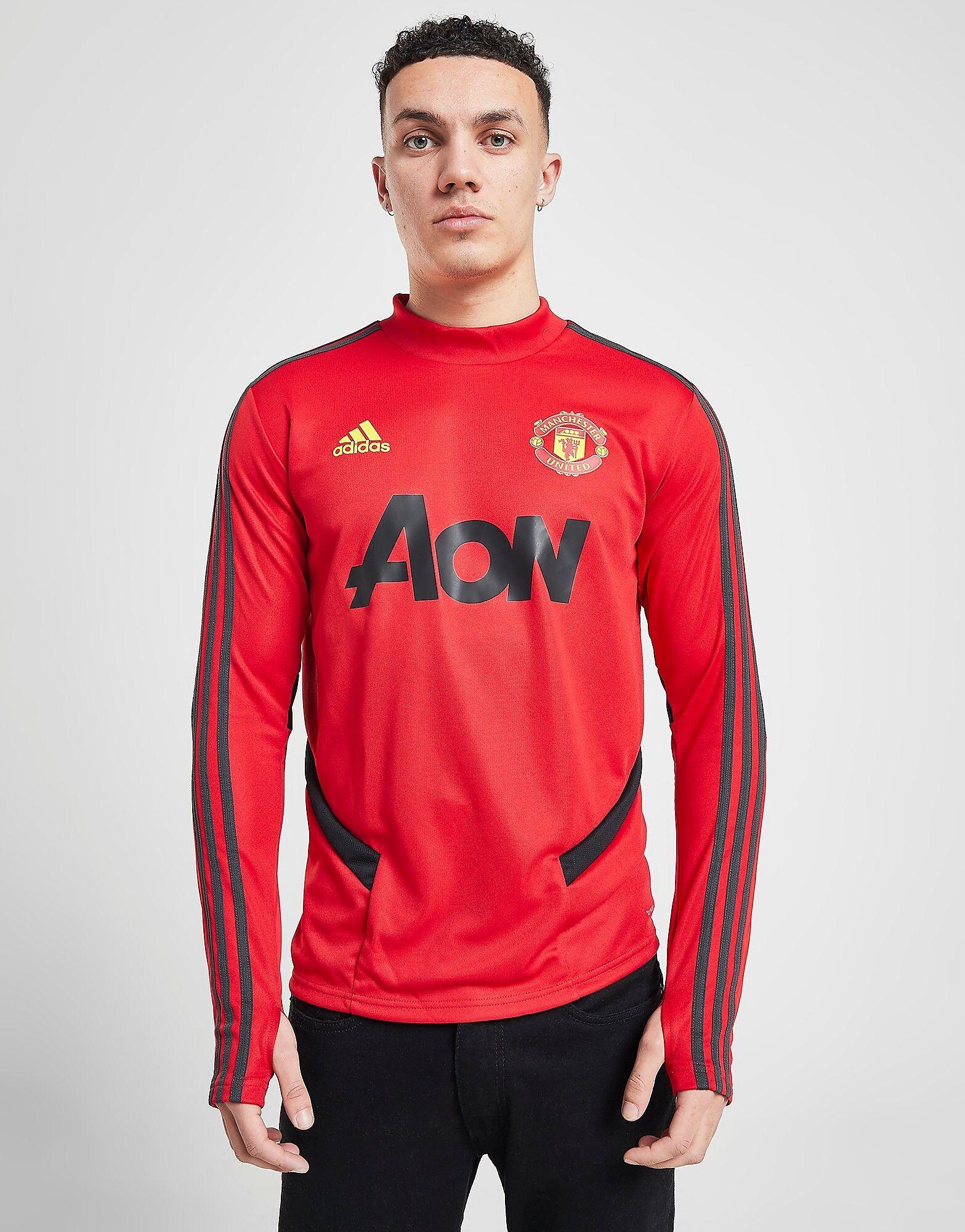 Image of Adidas Manchester United FC Treenipaita Miehet - Mens, Punainen