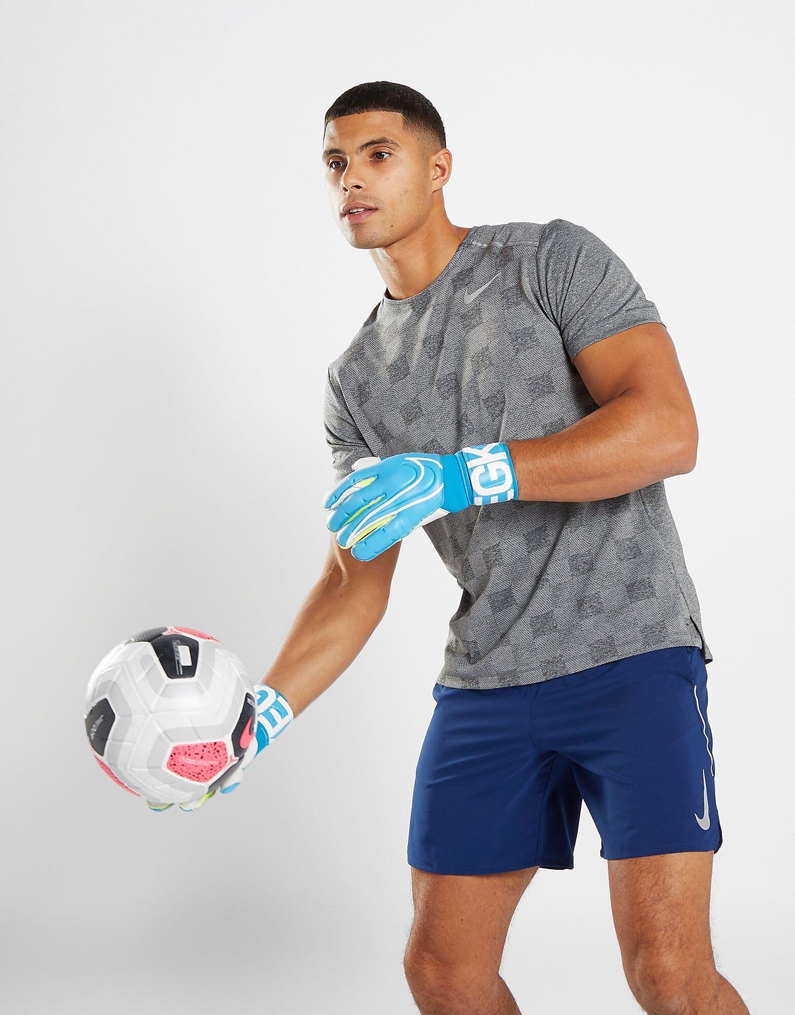 Image of Nike Goalkeeper Grip3 Gloves - Mens, Sininen