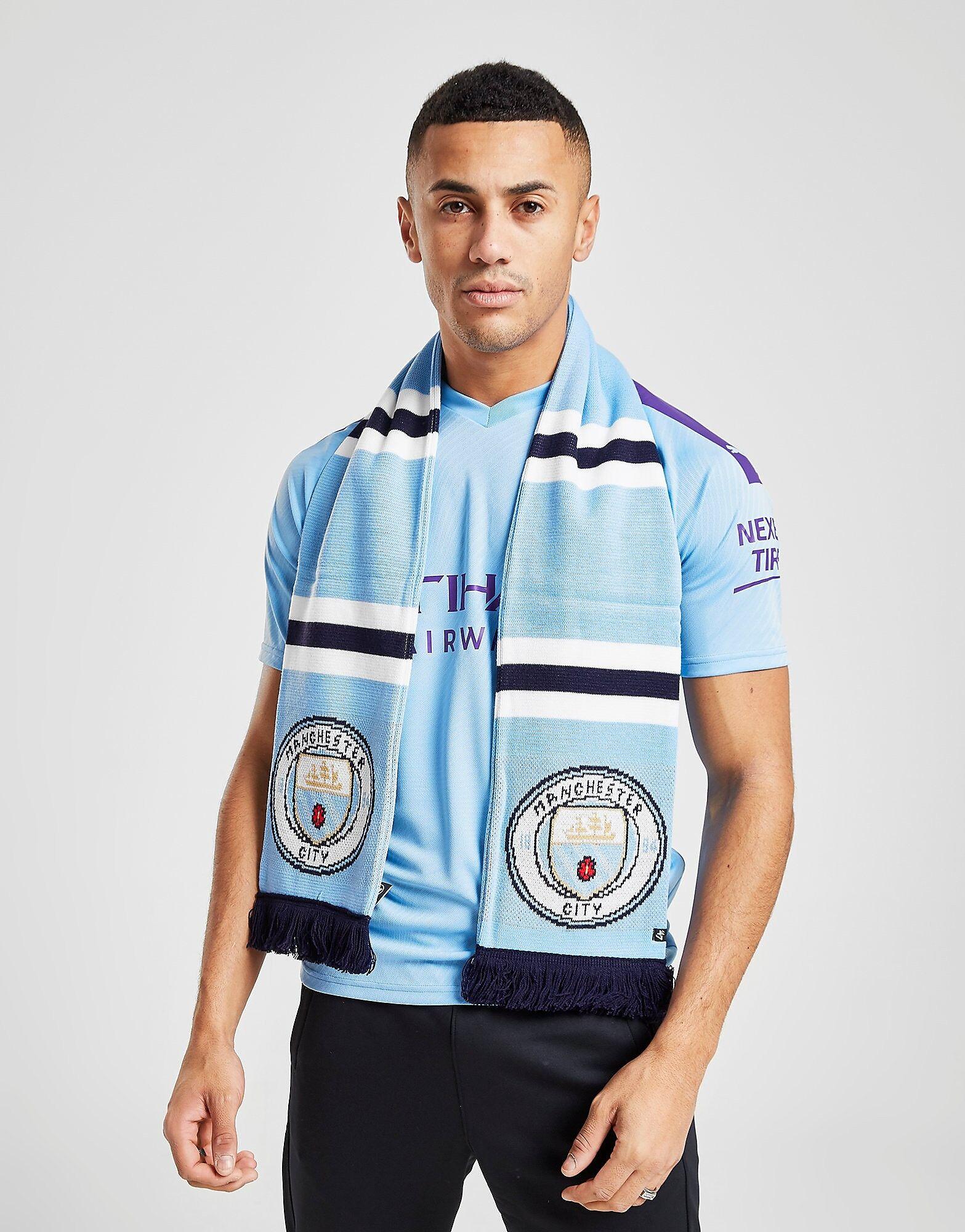 47 Brand Manchester City FC Scarf - Mens, Sky Blue
