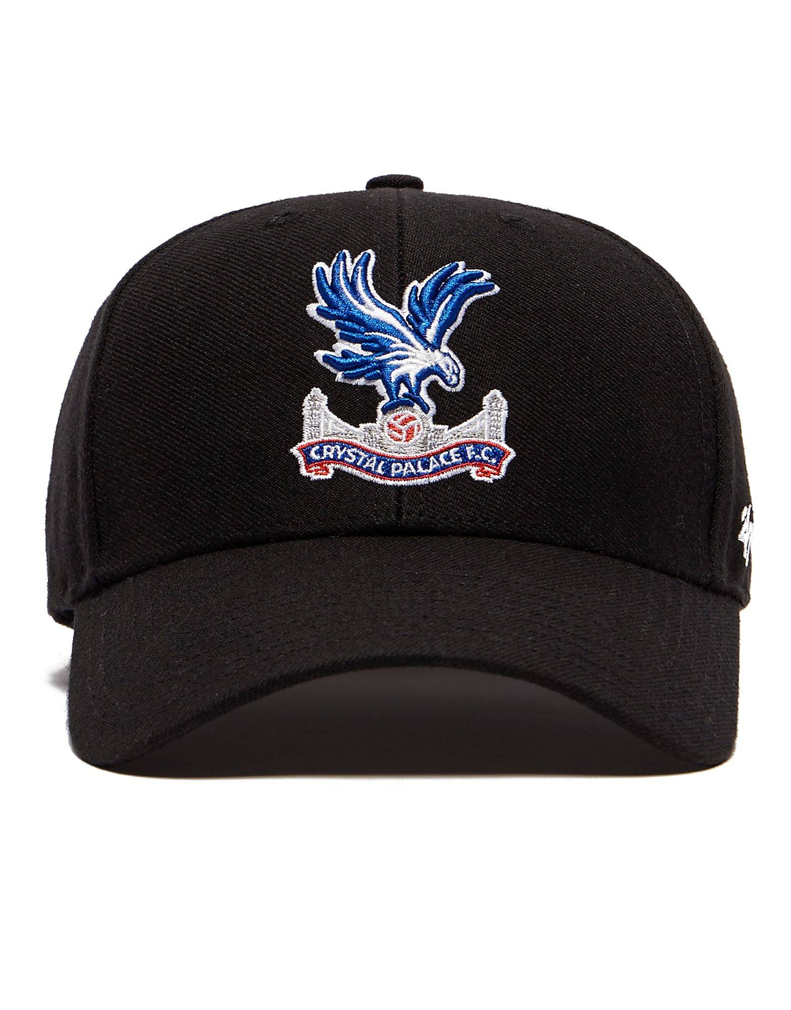 47 Brand Crystal Palace FC Clean Up Cap - Mens, Musta