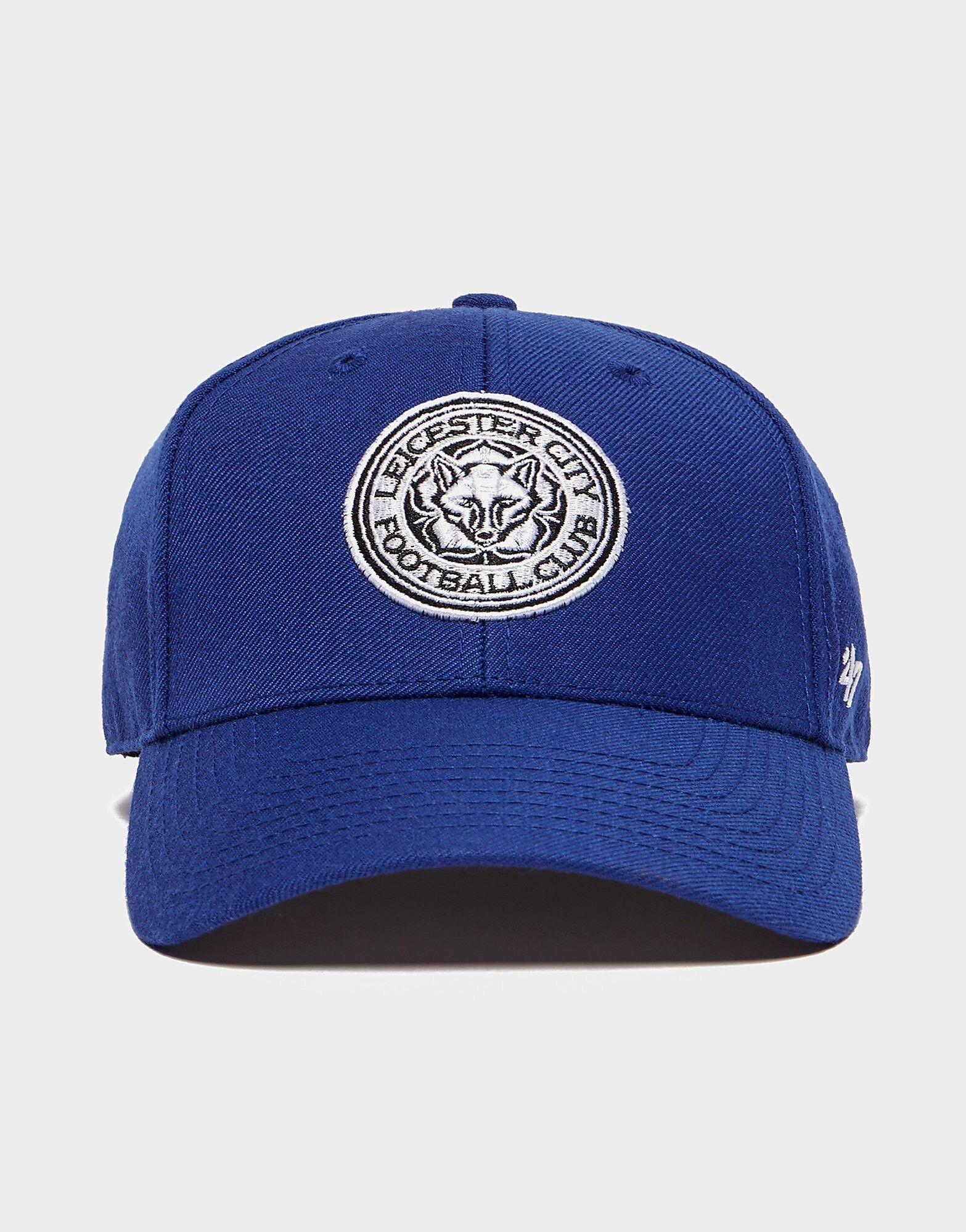 47 Brand Leicester City FC Clean Up Cap - Mens, Sininen