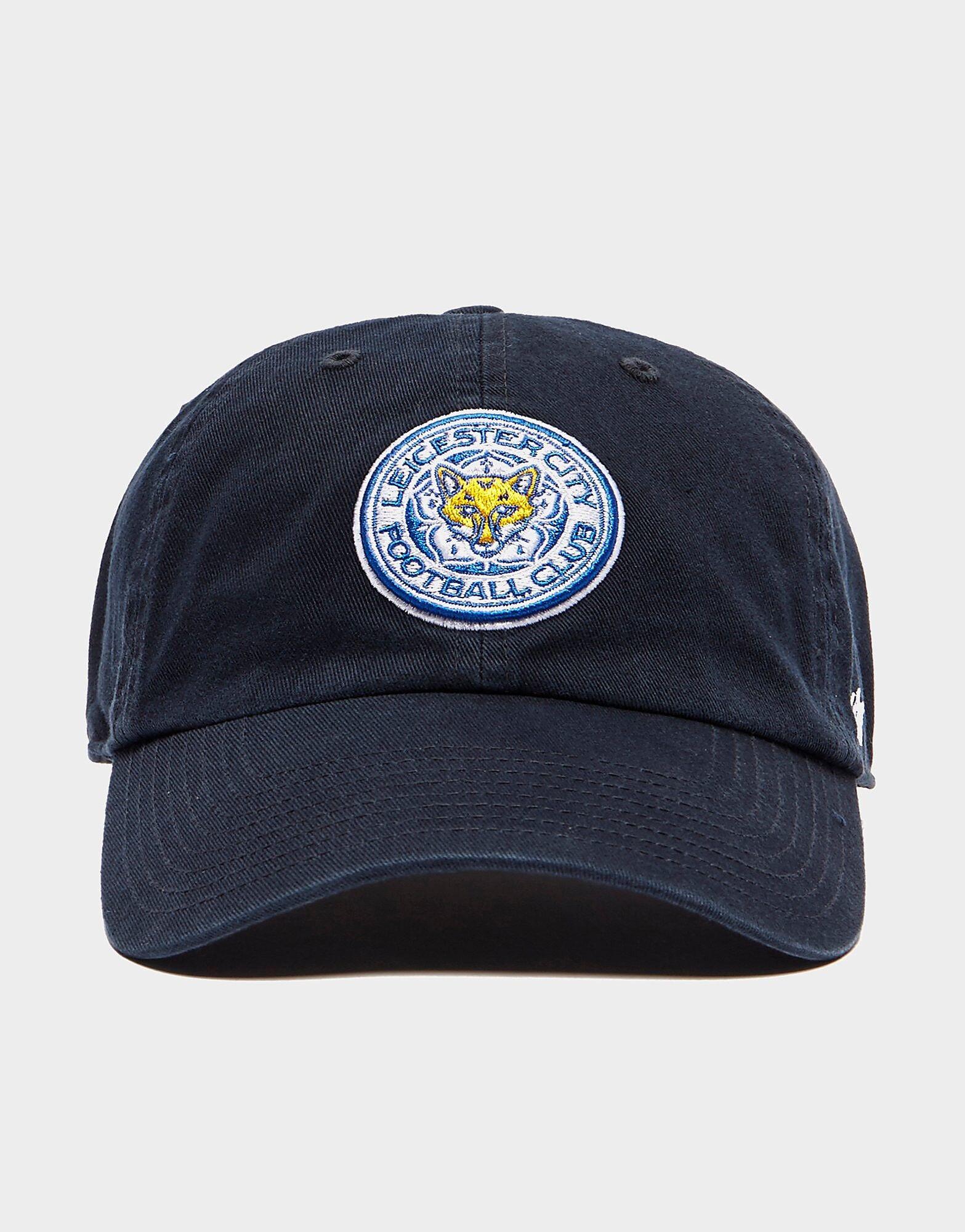 47 Brand Leicester City FC Clean Up Cap - Mens, Laivastonsininen