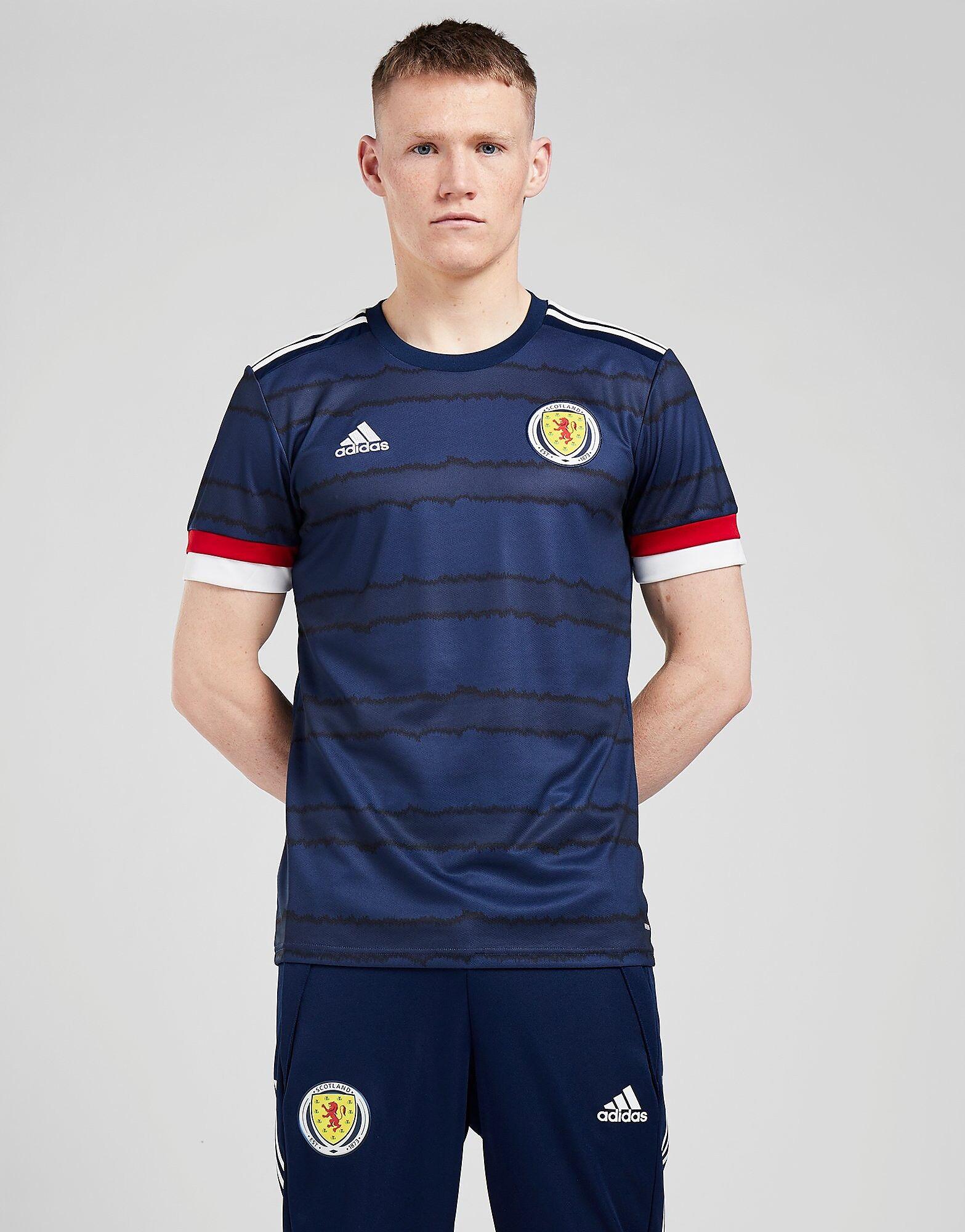 Image of Adidas Scotland 2020 Kotipaita Miehet - Mens, Sininen