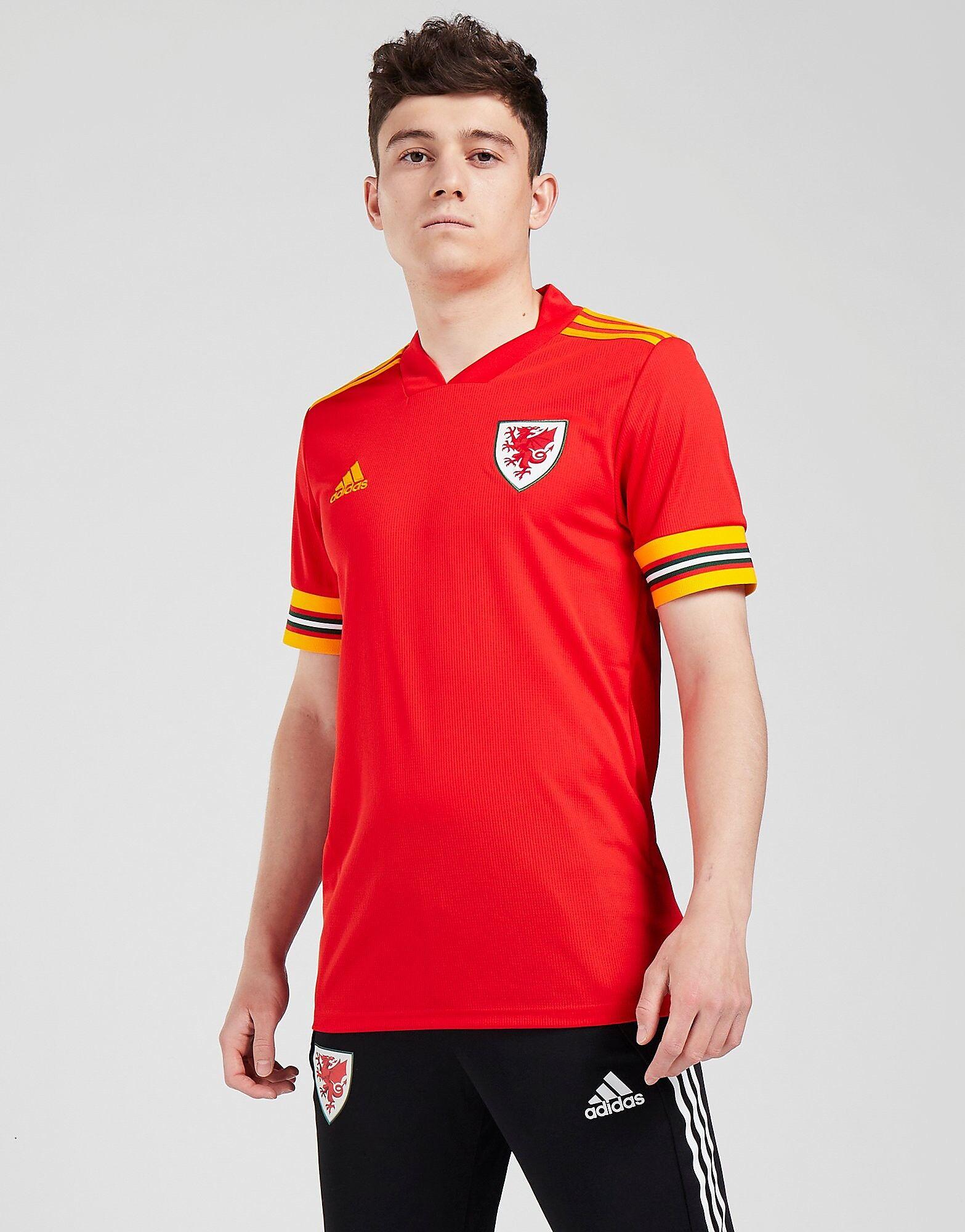 Image of Adidas Wales 2020 Kotipaita Miehet - Mens, Punainen