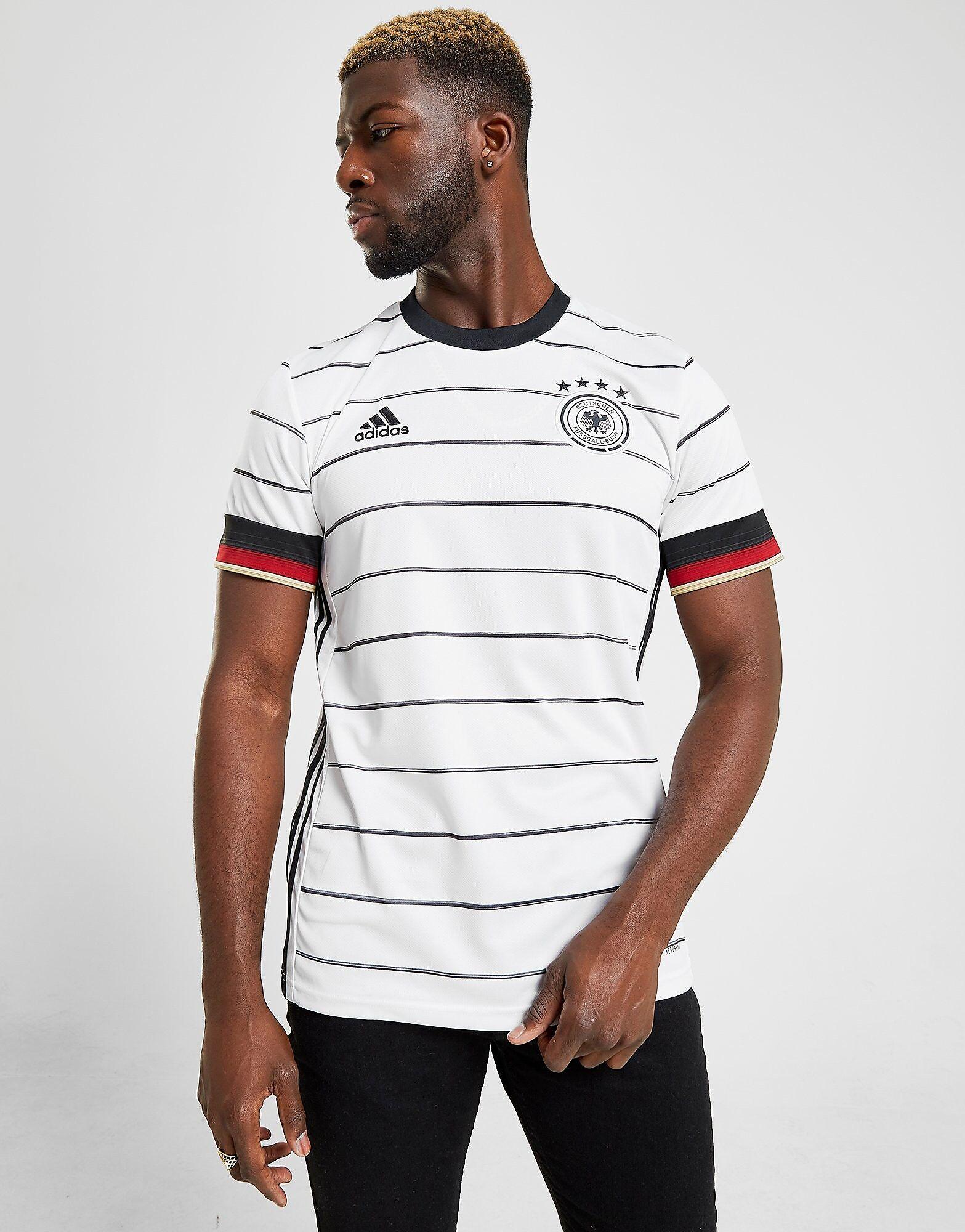 Image of Adidas Germany 2020 Kotipaita Miehet ENNAKKOTILAUS - Mens, Valkoinen